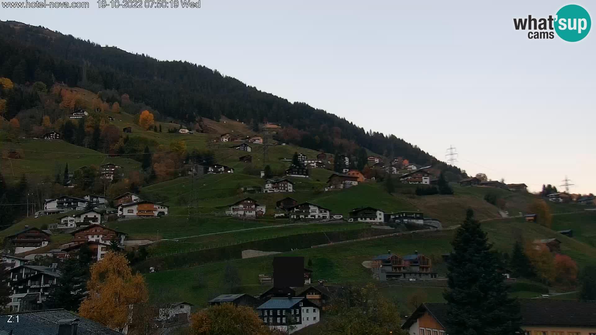 Gaschurn Webcam Hotel Nova – Montafon