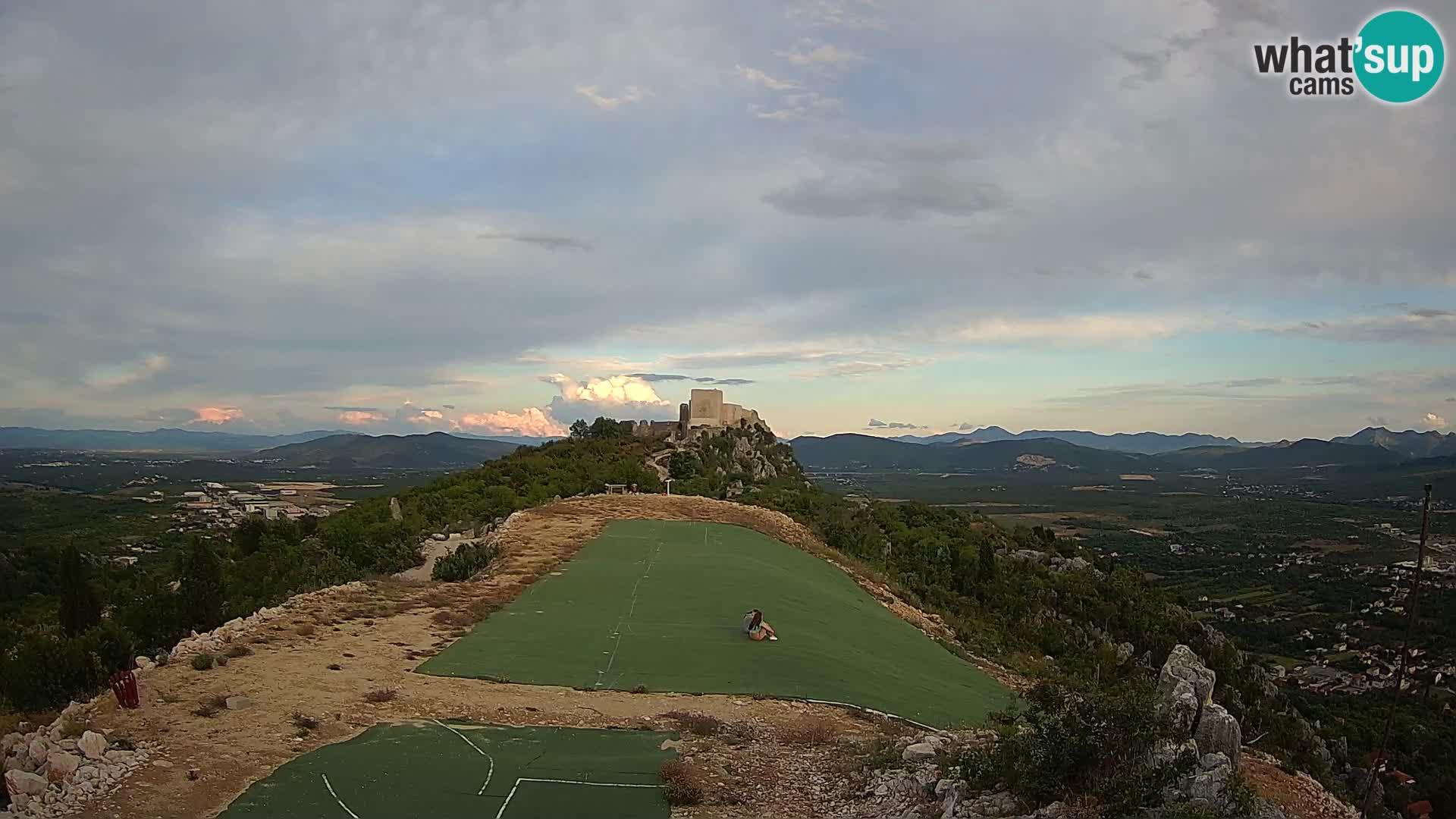 Webcam en direct aérodrome de parapente Ljubuški – Kula