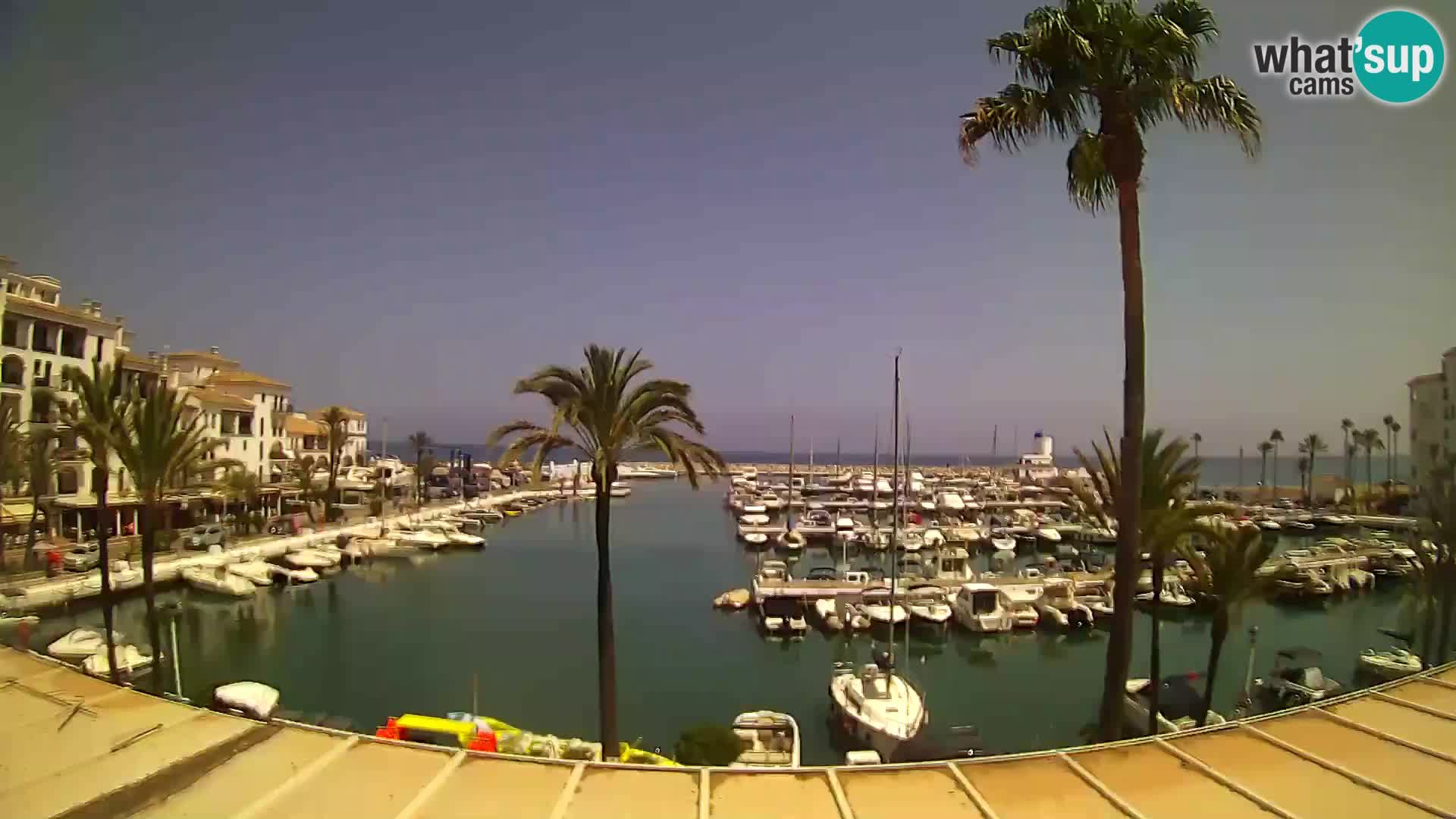 webcam Puerto de la Duquesa – Marina