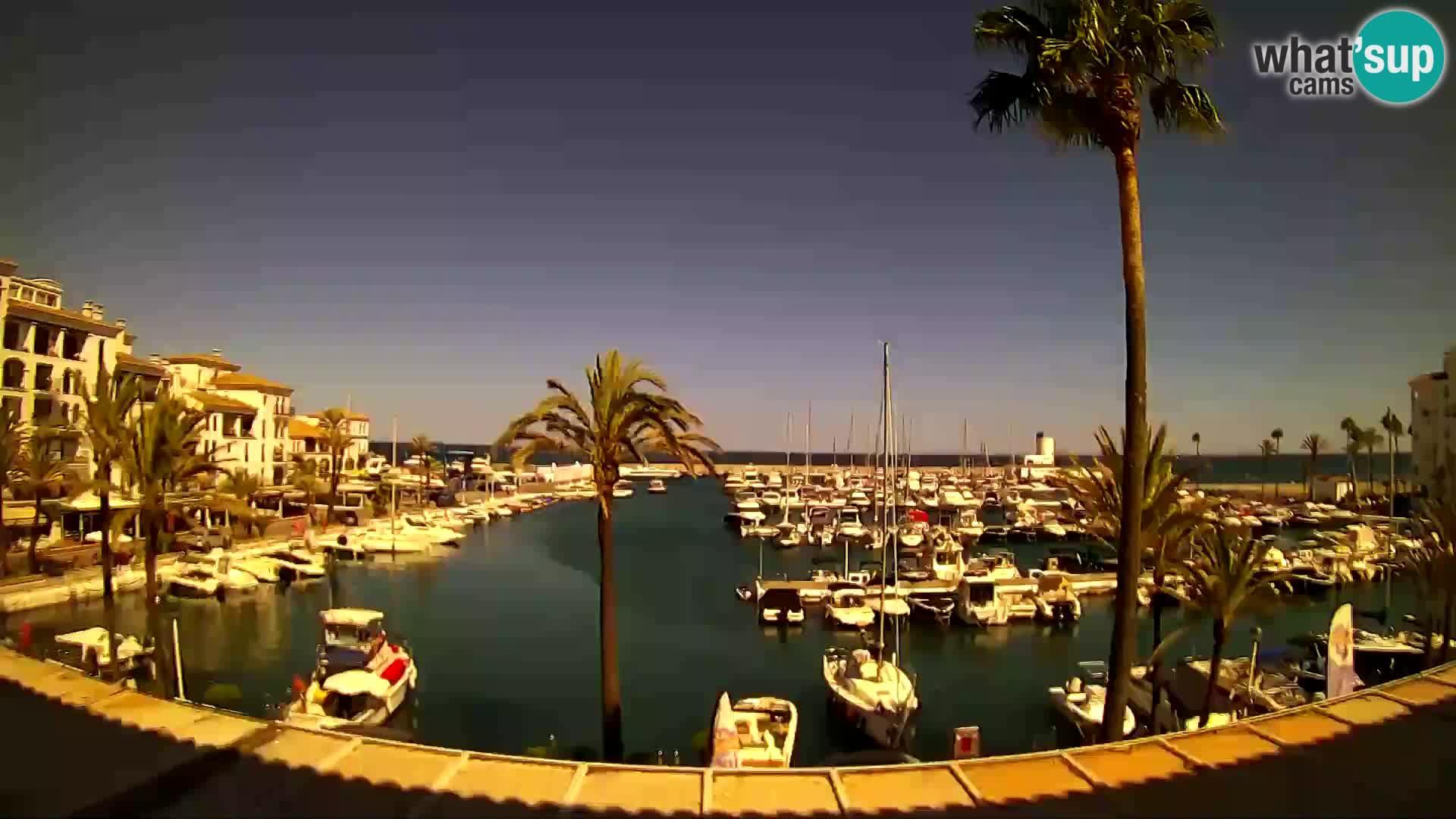 Spletna kamera Puerto de la Duquesa – Marina