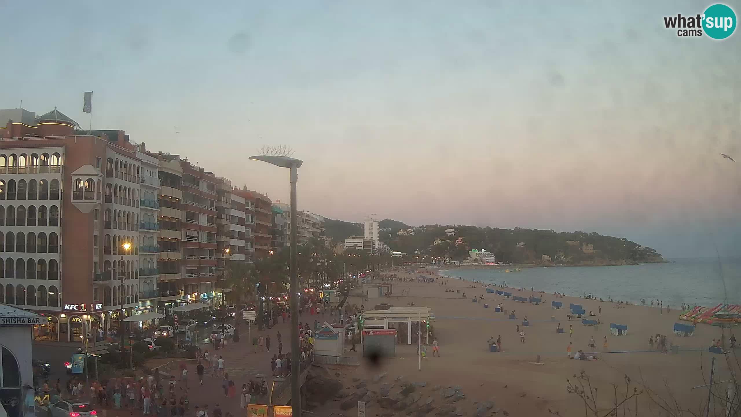 Web kamera Lloret de Mar – glavna plaža