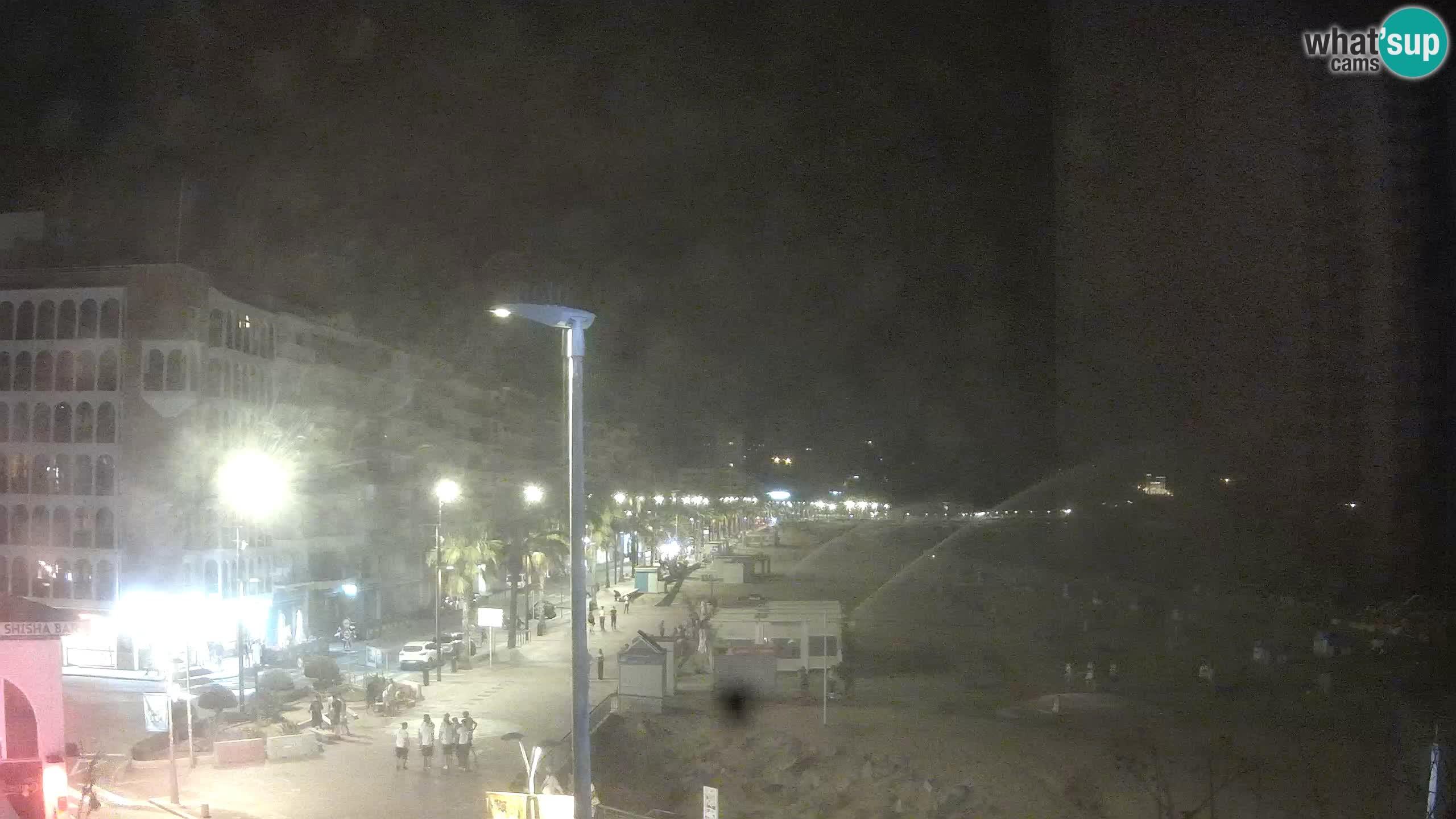 Webcam Lloret de Mar – Plage centrale