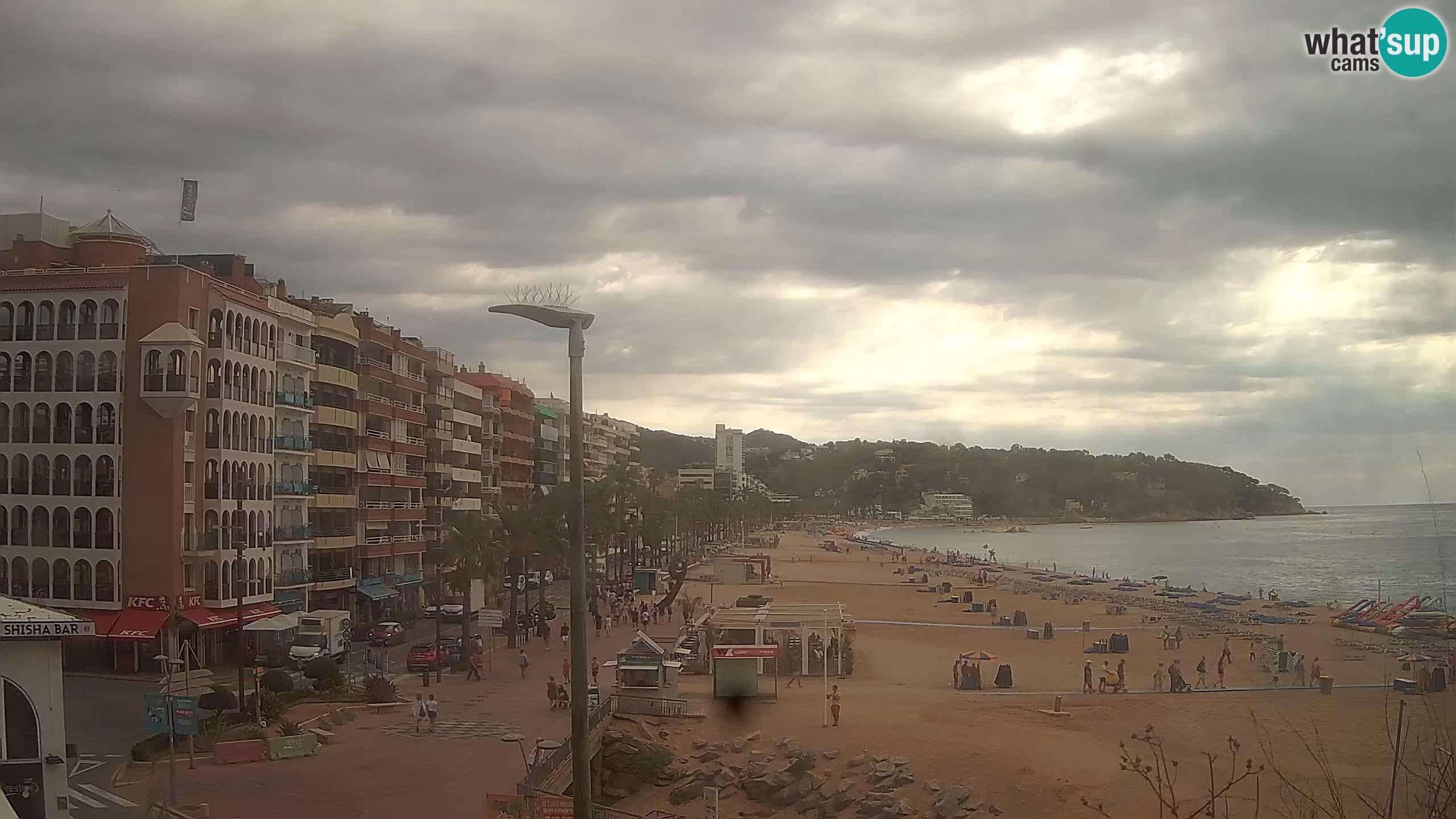 Webcam Lloret de Mar – Središnja plaža