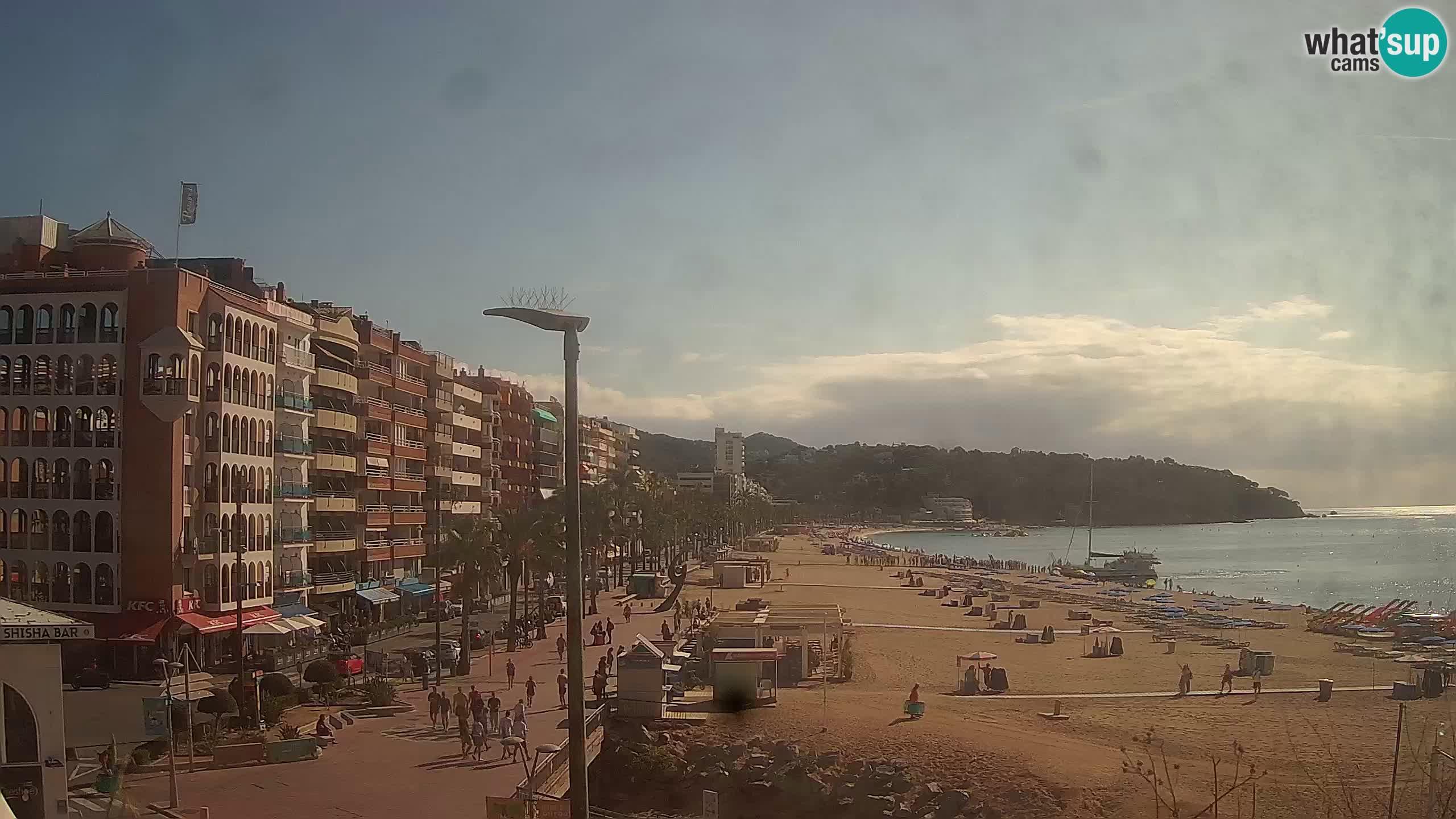Webcam live Lloret de Mar – Hauptstrand