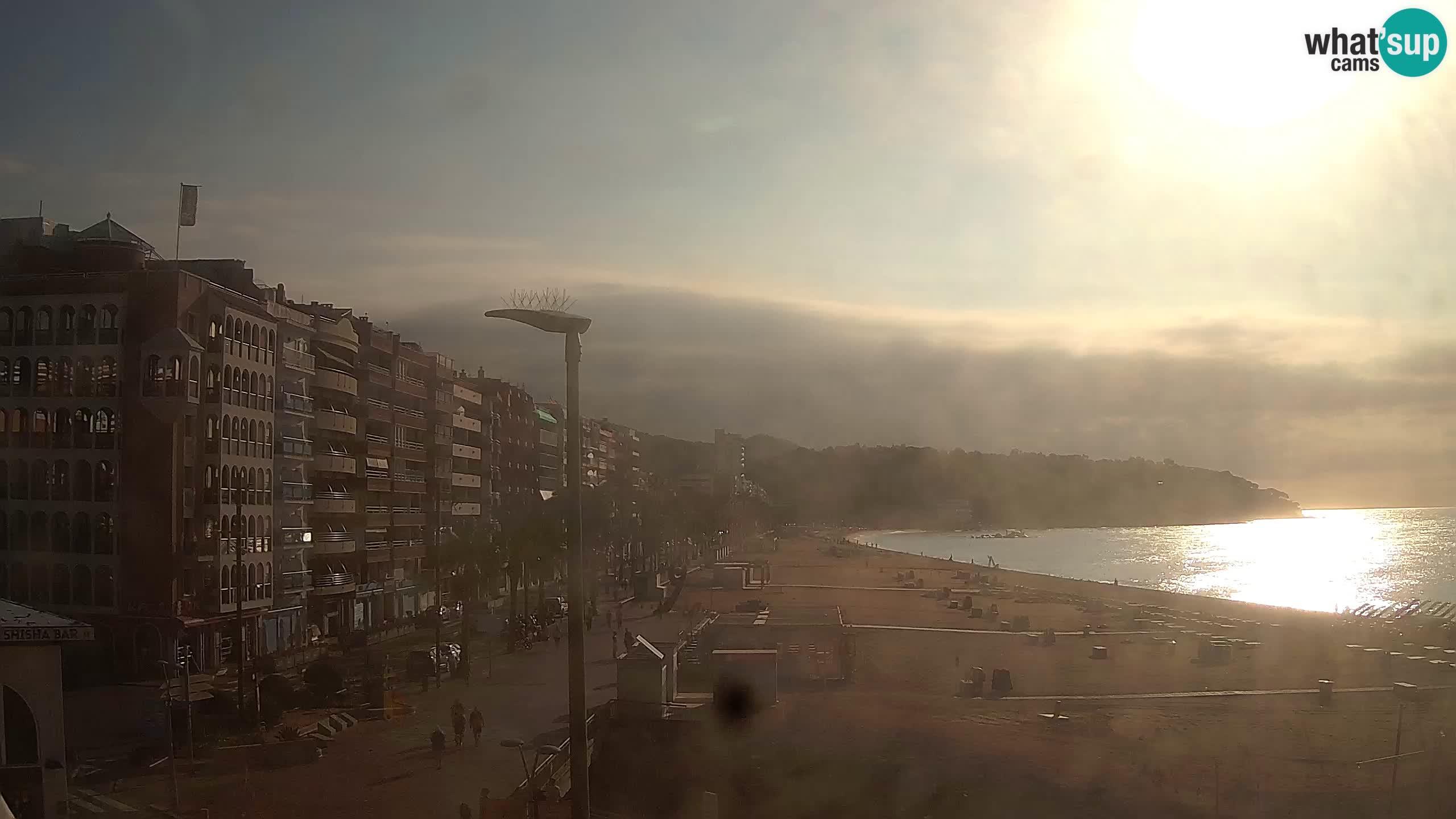 Kamera v živo Lloret de Mar – plaža