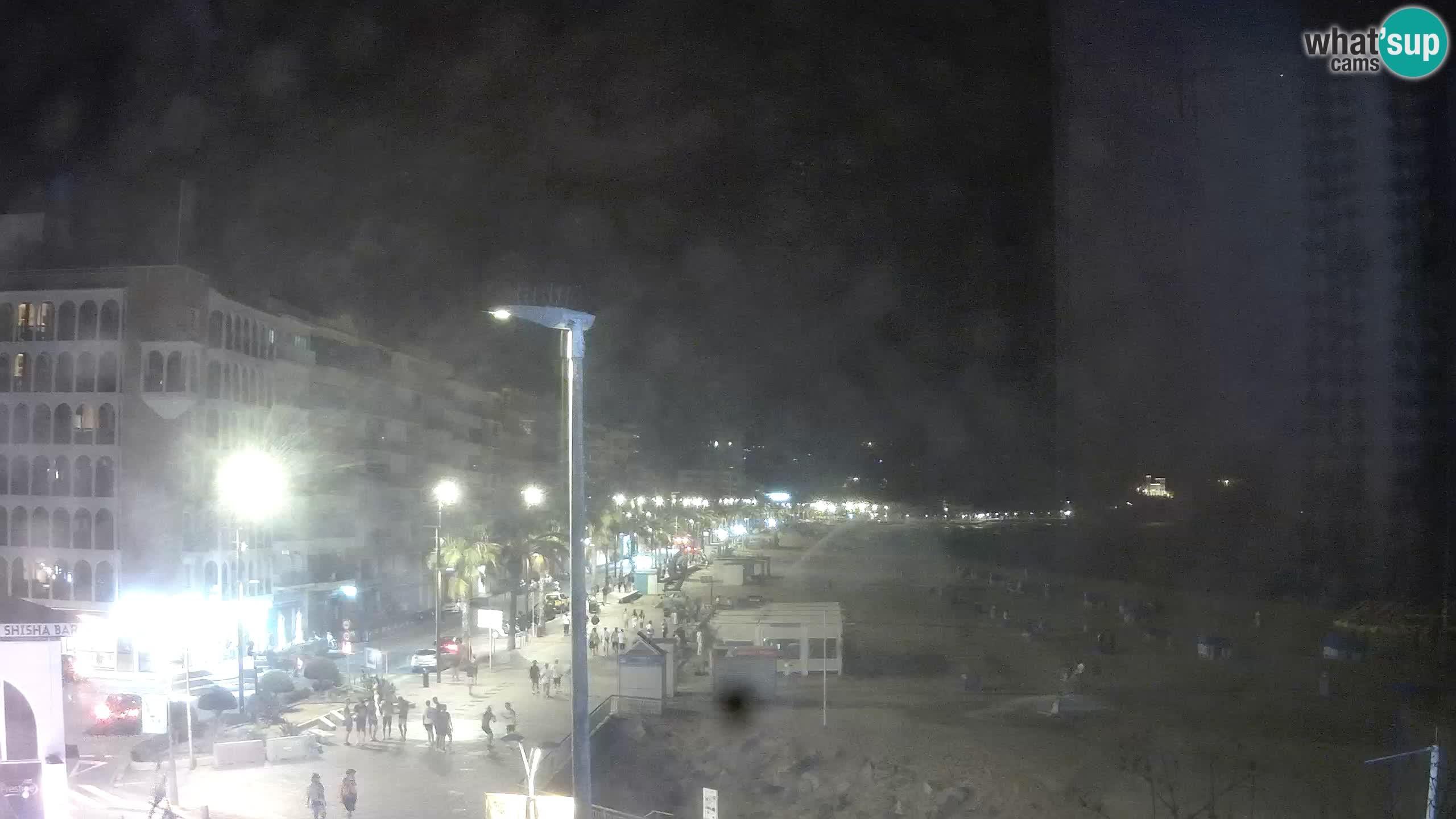 Webcam Live Lloret de Mar – La plage