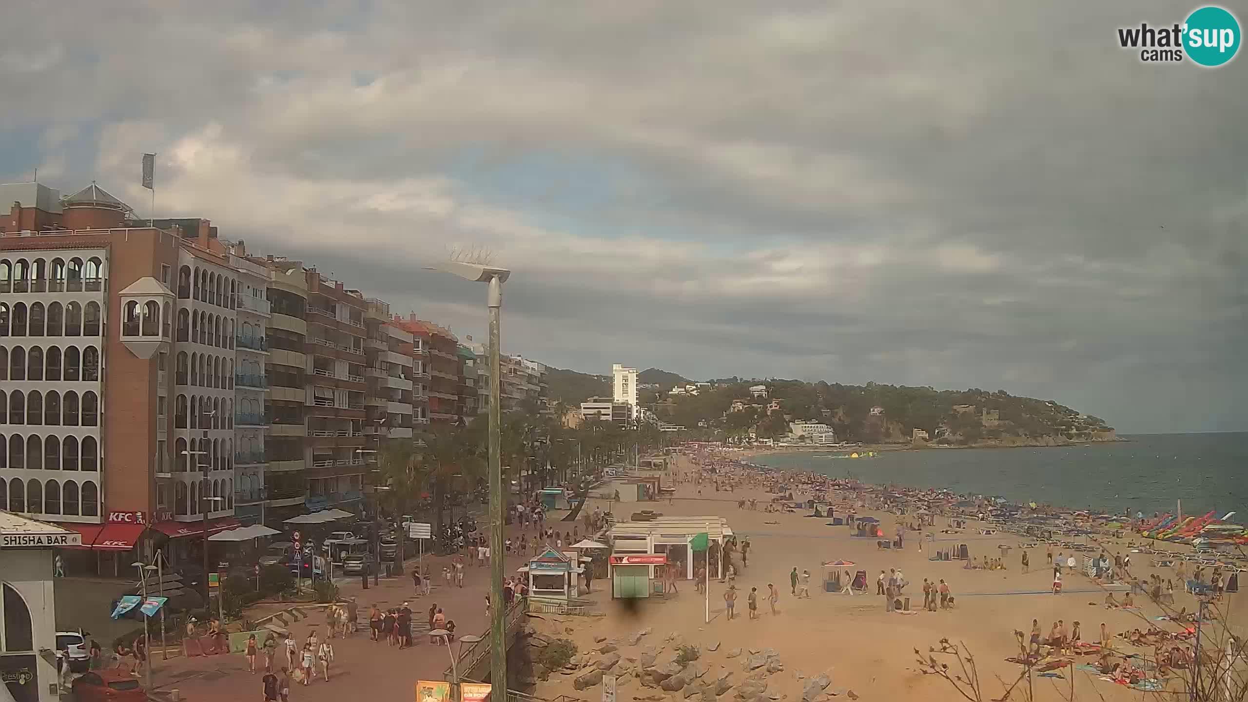 Webcam streaming Lloret de Mar – Plage