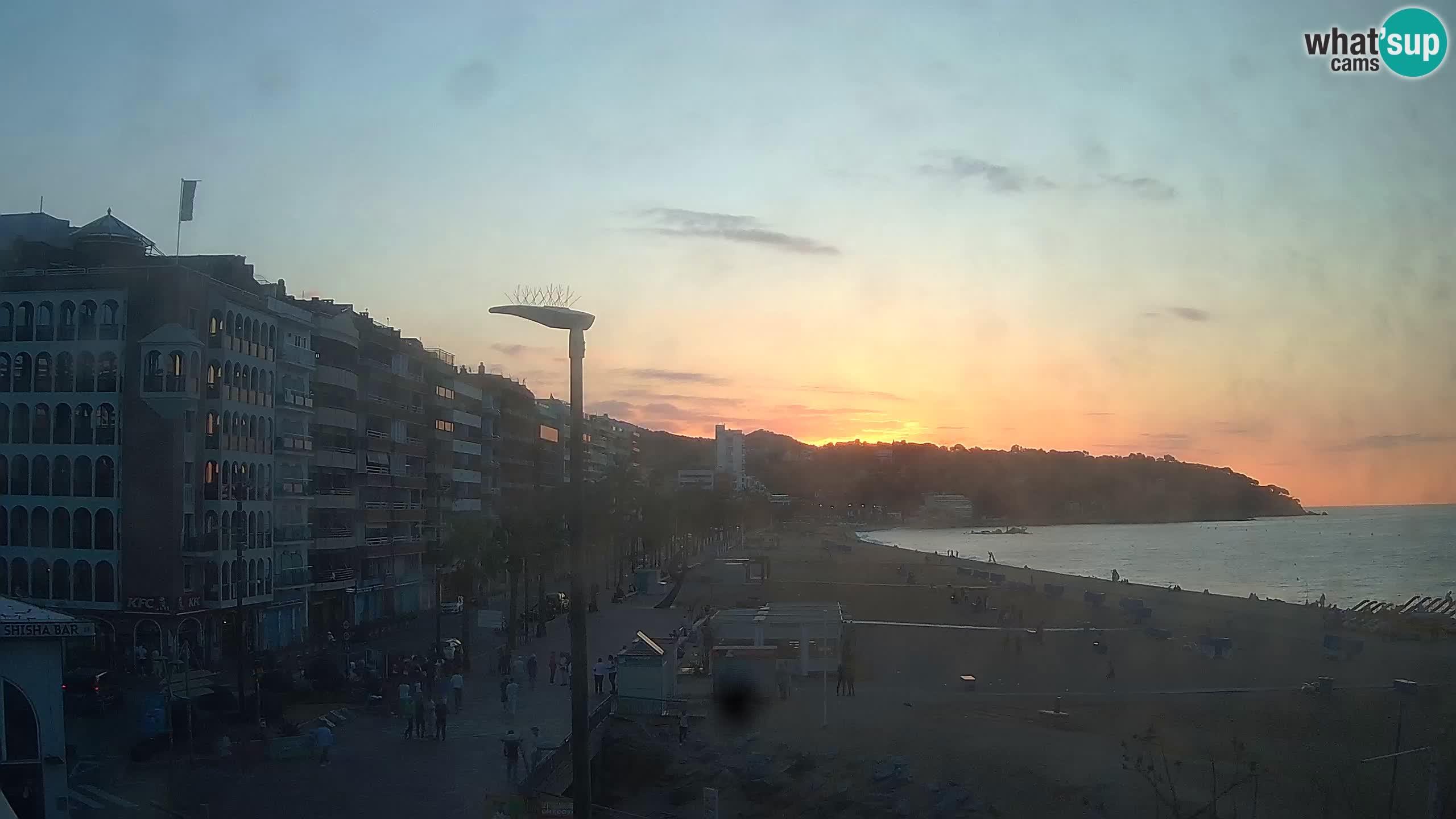Webcam Lloret de Mar  – Playa principal