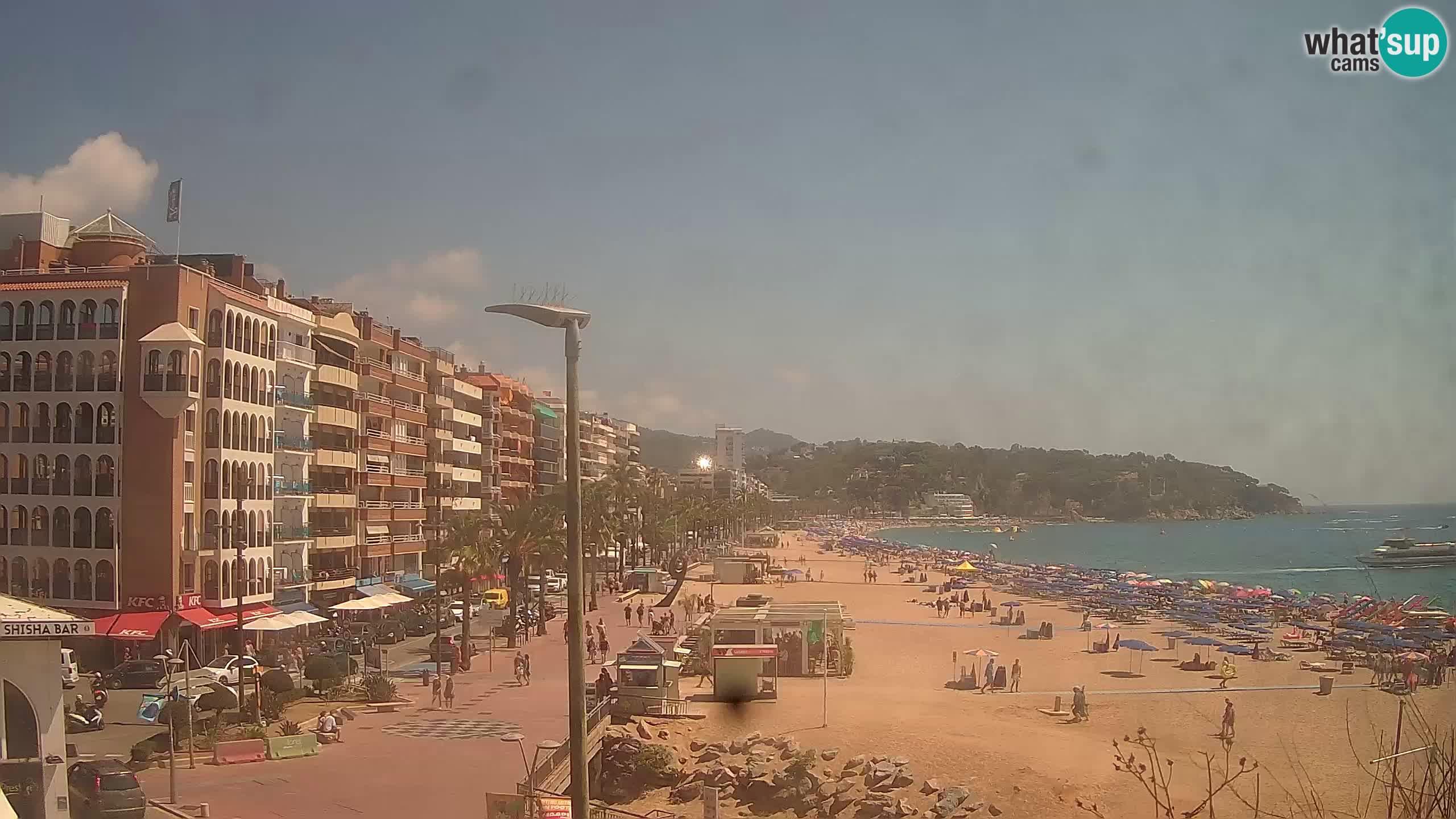 Webcam Lloret de Mar – Hauptstrand