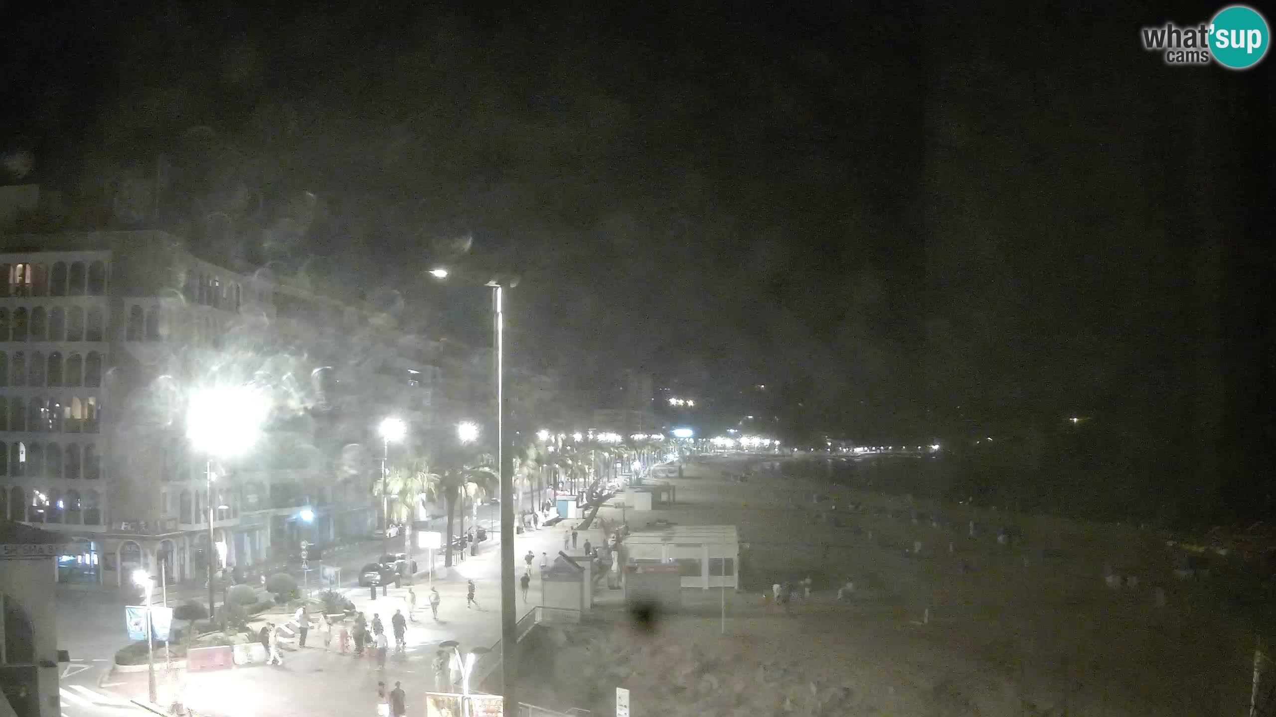 Webcam live Lloret de Mar – la spiaggia principale