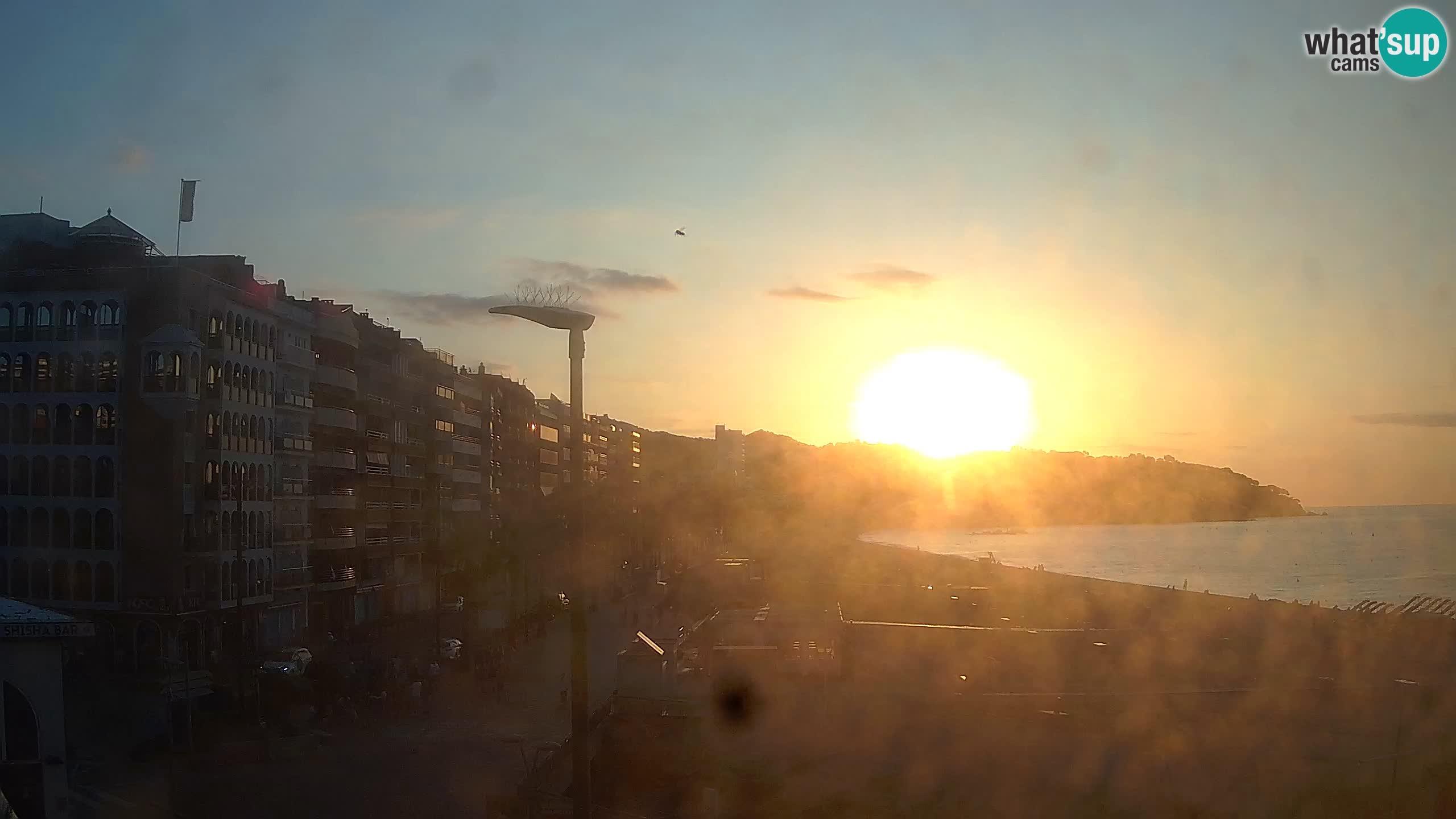 Web kamera Lloret de Mar – plaža