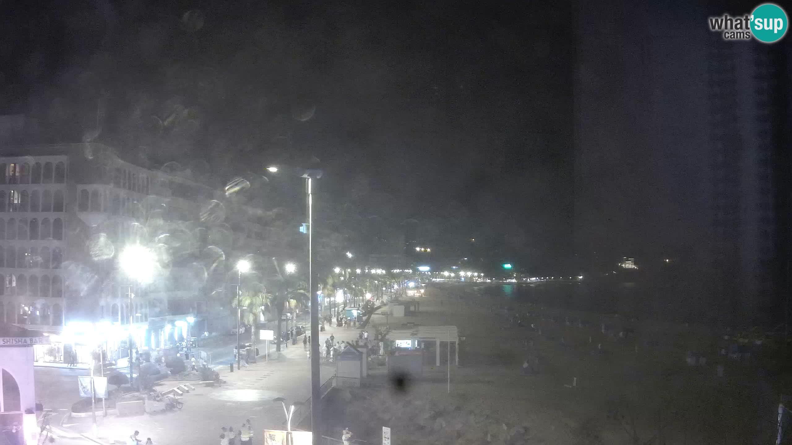 Webcam Lloret de Mar – Spiaggia centrale