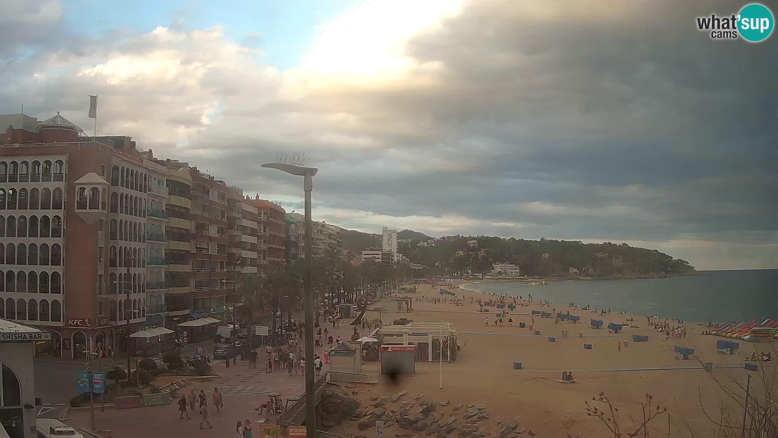 Webcam Lloret de Mar – Central beach