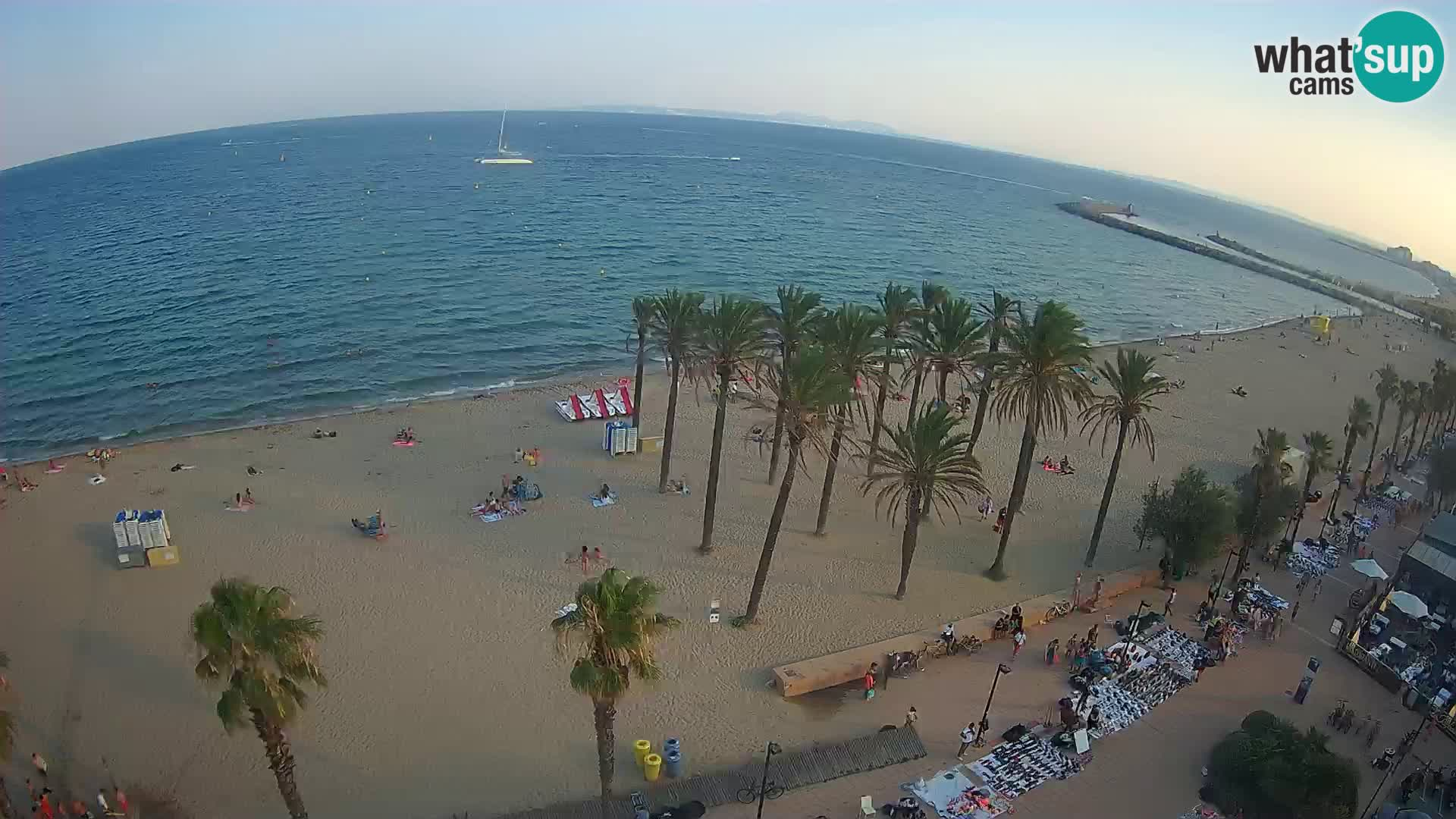 Camera en vivo Roses playa – Hotel MonteCarlo