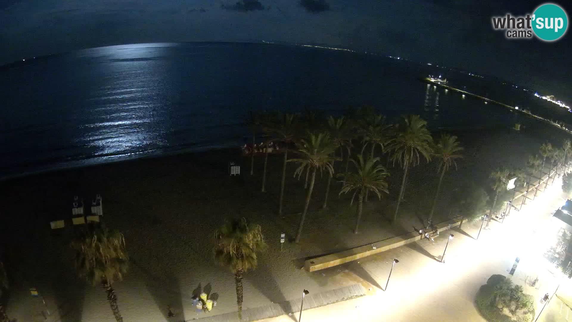 Webcam Live Roses spiaggia – Hotel MonteCarlo