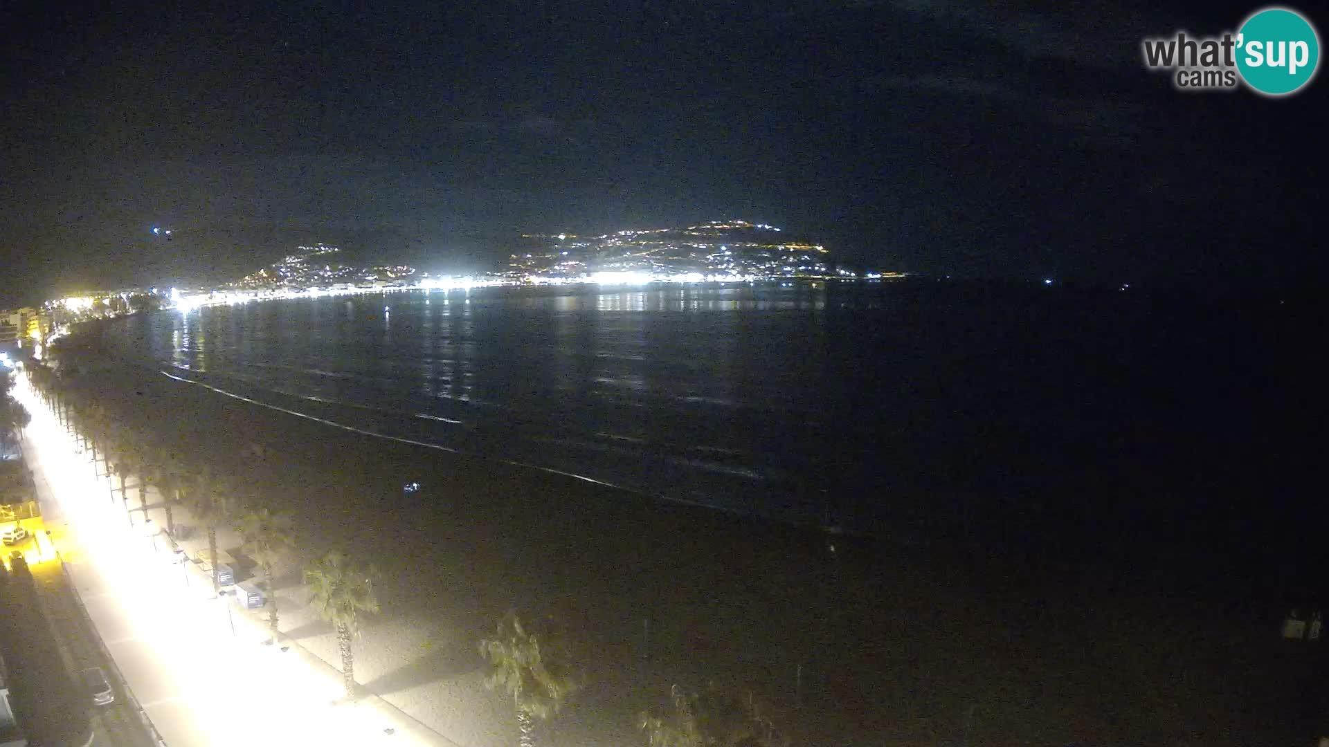 Roses camera en vivo playa Costa Brava- Hotel MonteCarlo