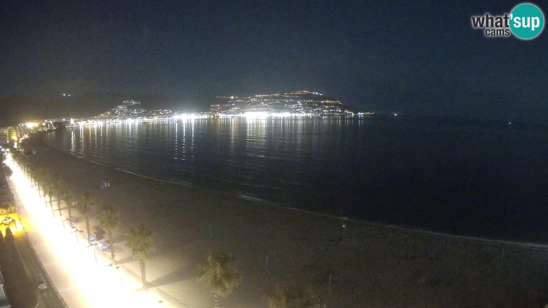 LIVEcam Roses plage Costa Brava – Hotel Montecarlo webcam Espagne