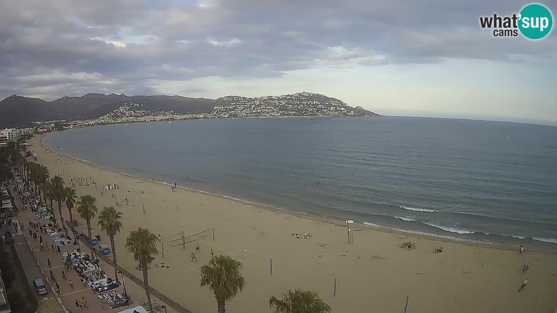 Web kamera Roses – Španijolska – Pogled sa hotela MonteCarlo