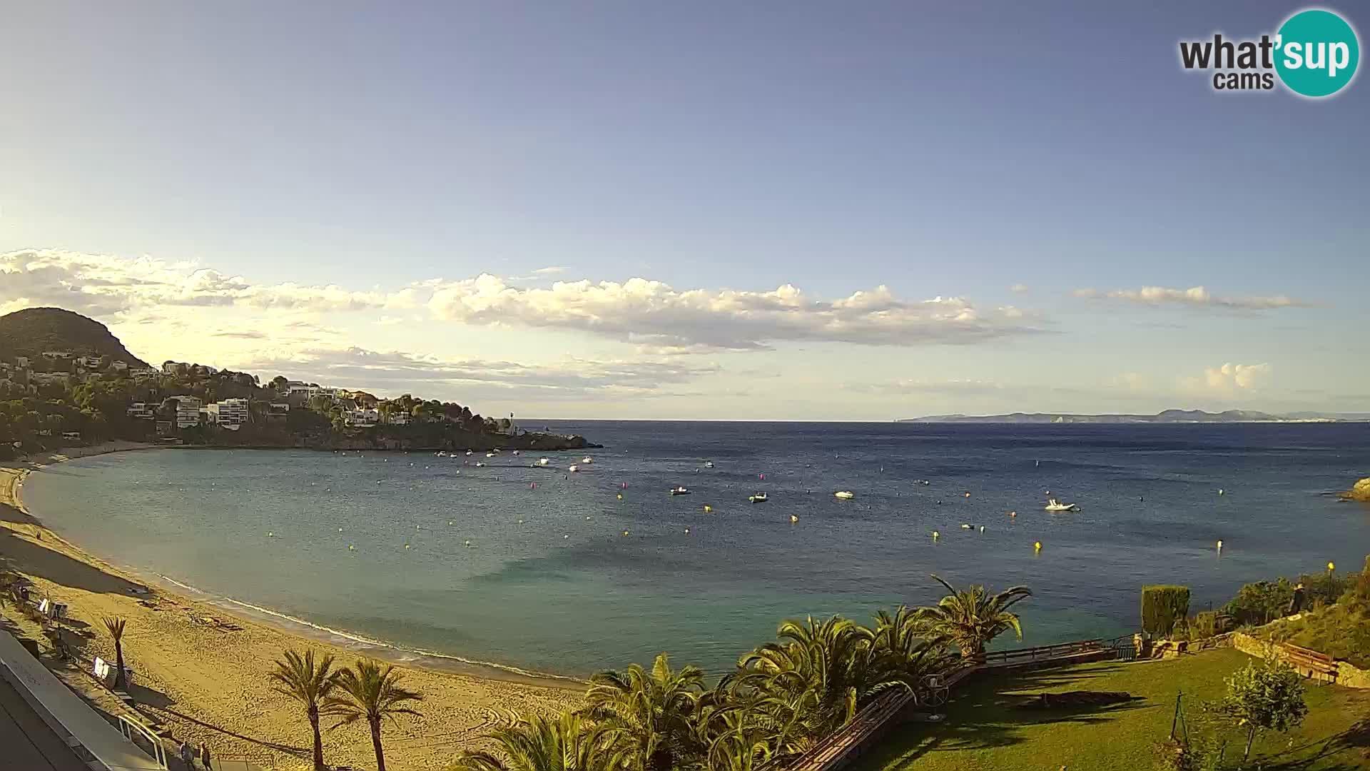 Platja de l'Almadrava Spiaggia Live Webcam Roses – Costa Brava – Spagna