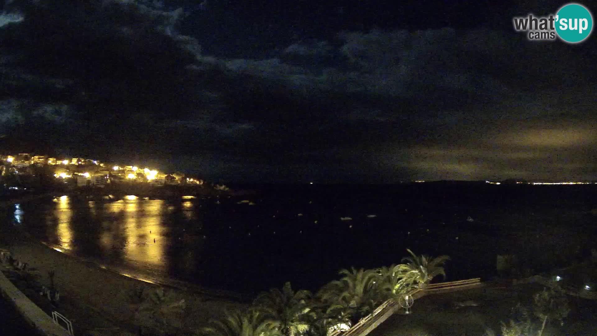 Platja de l'Almadrava Strand Webcam Roses – Costa Brava – Spanien