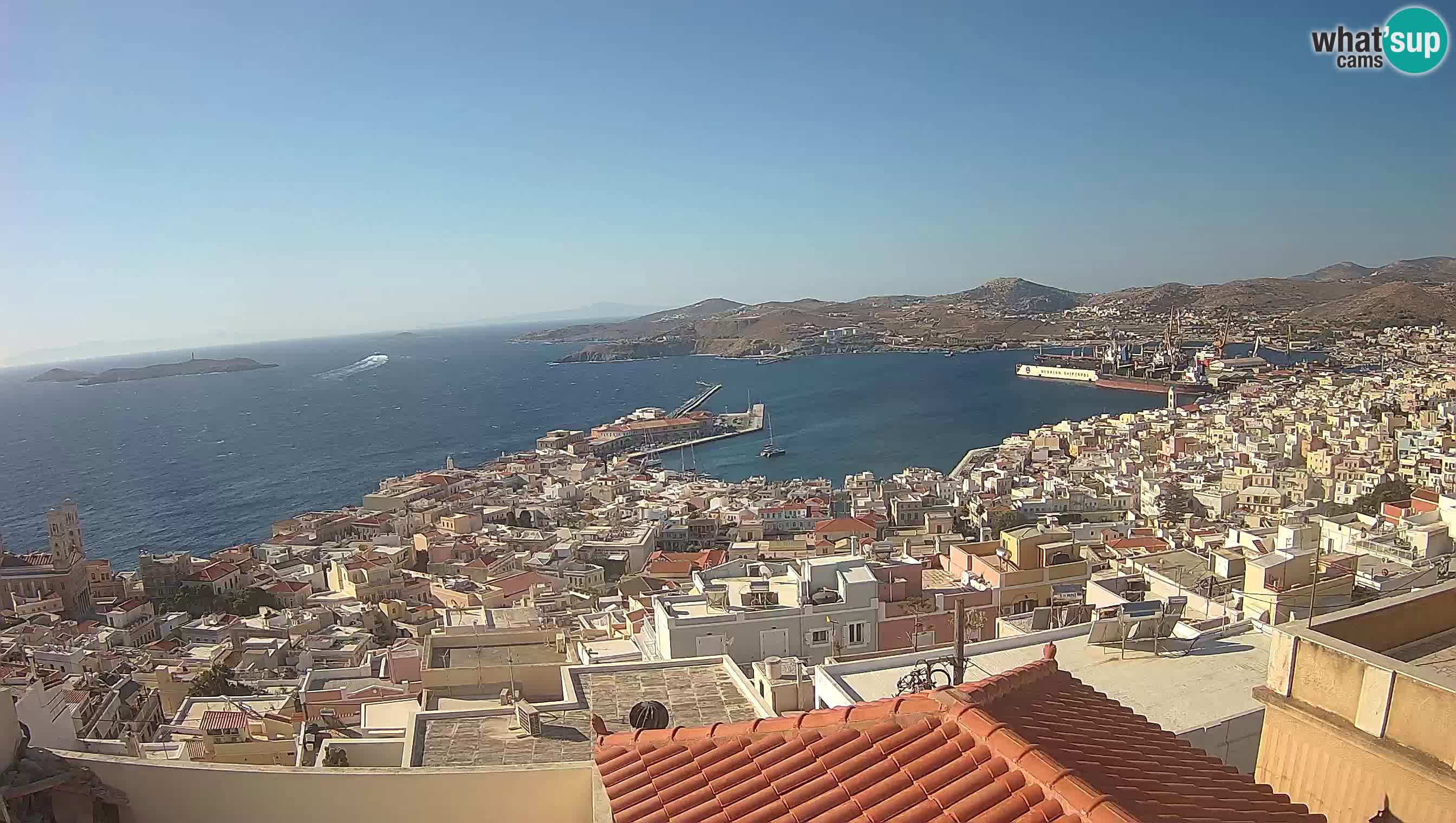 Siro – Il porto di Ermoupoli