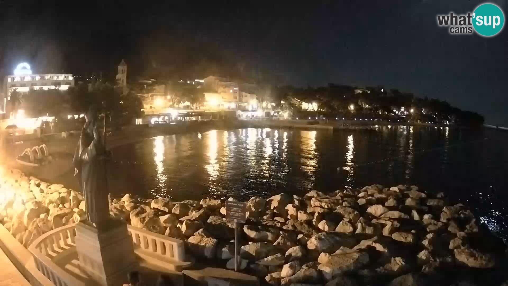Webcam Baška Voda – St. Nikola y Playa