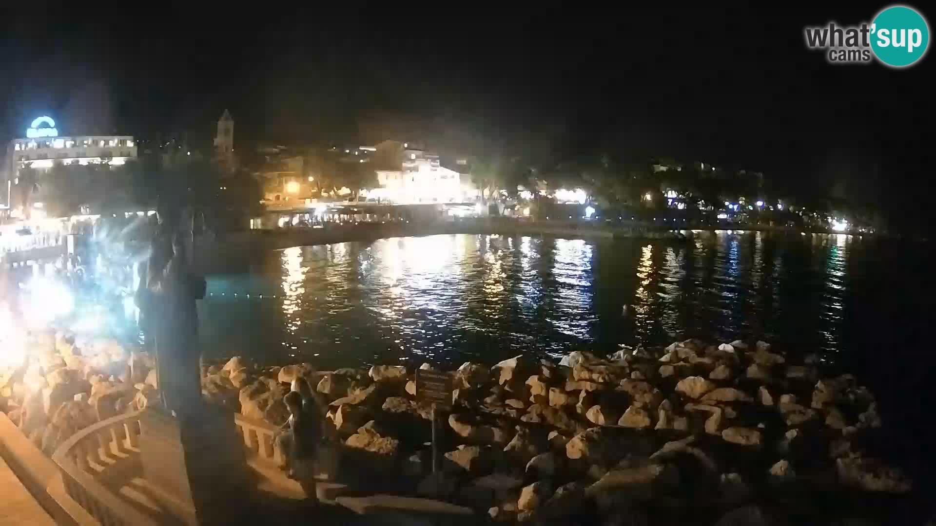 Webcam Baška Voda – Saint-Nikola et plage