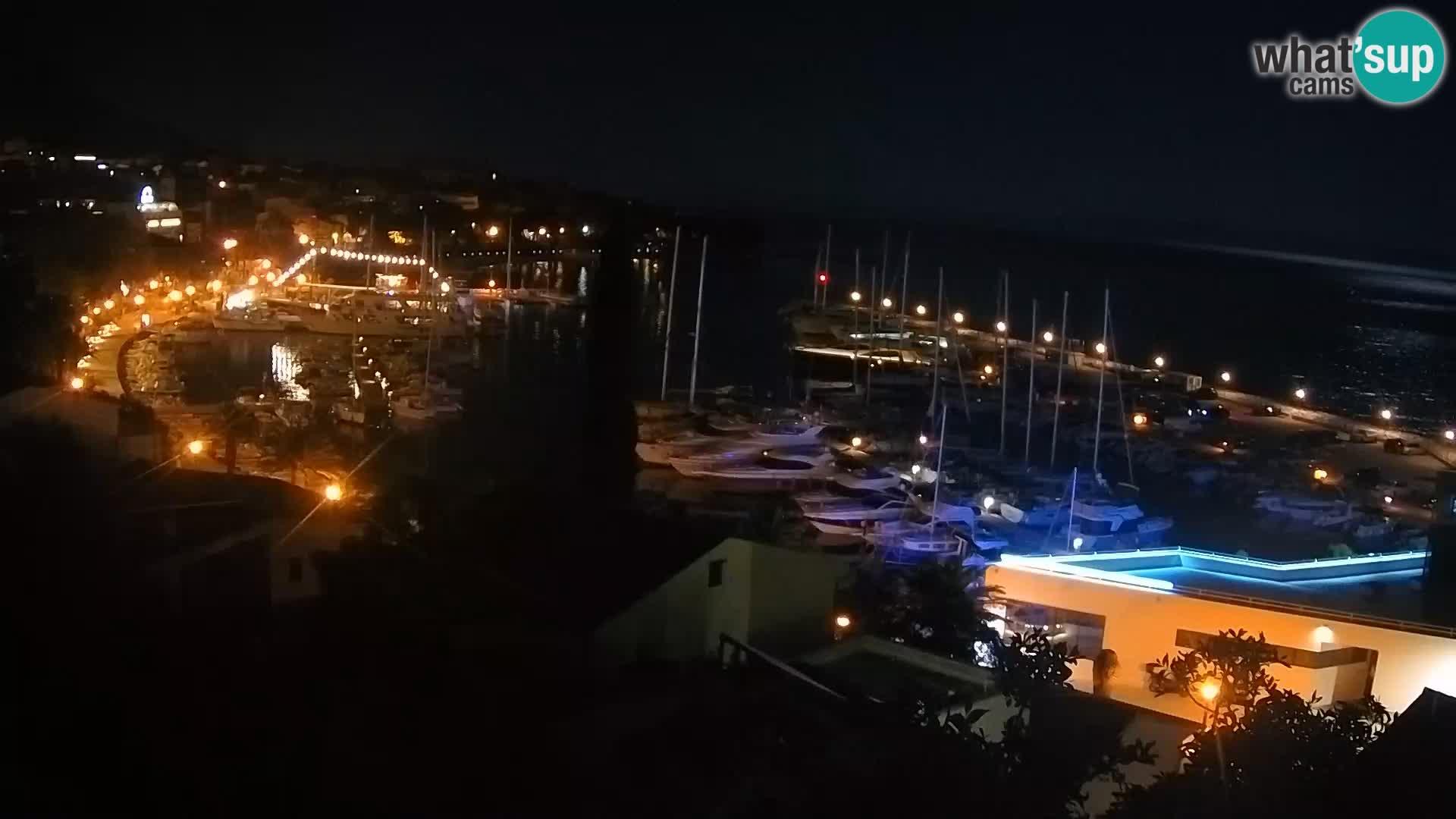 Panoramic view of Baška Voda