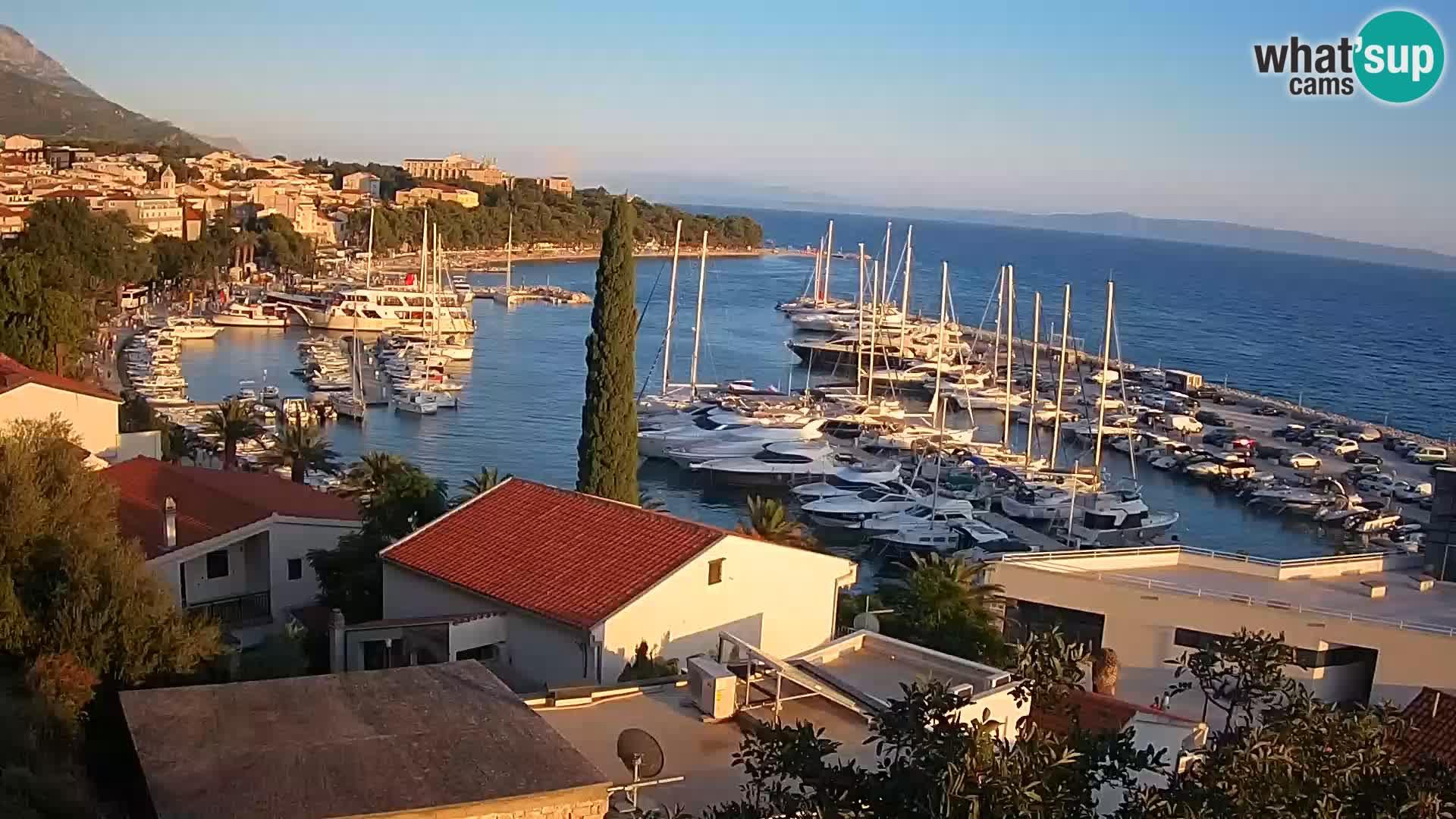 Blick auf Baska Voda