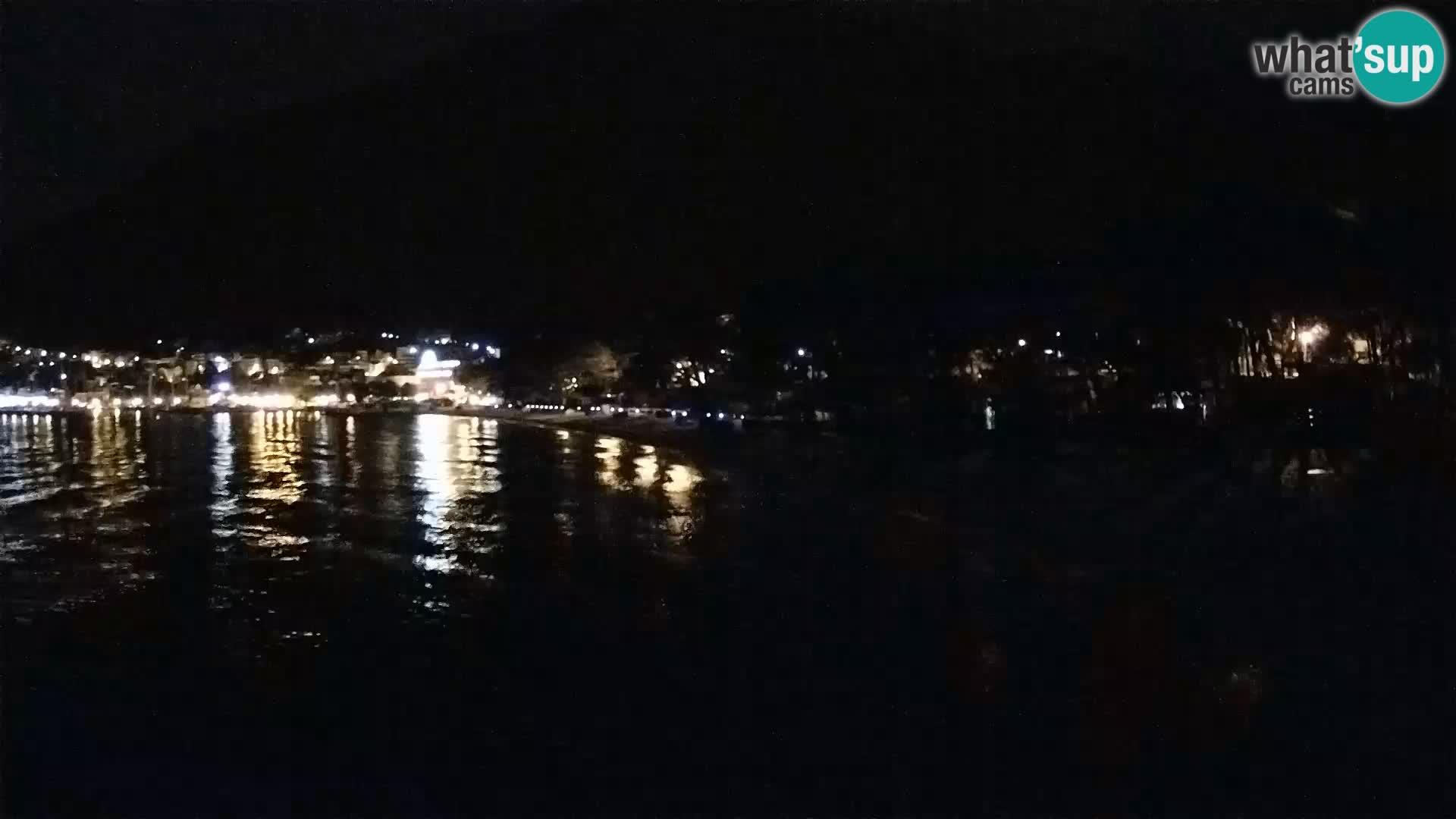 Webcam Live –  Baška Voda – Borik, Nikolina beach