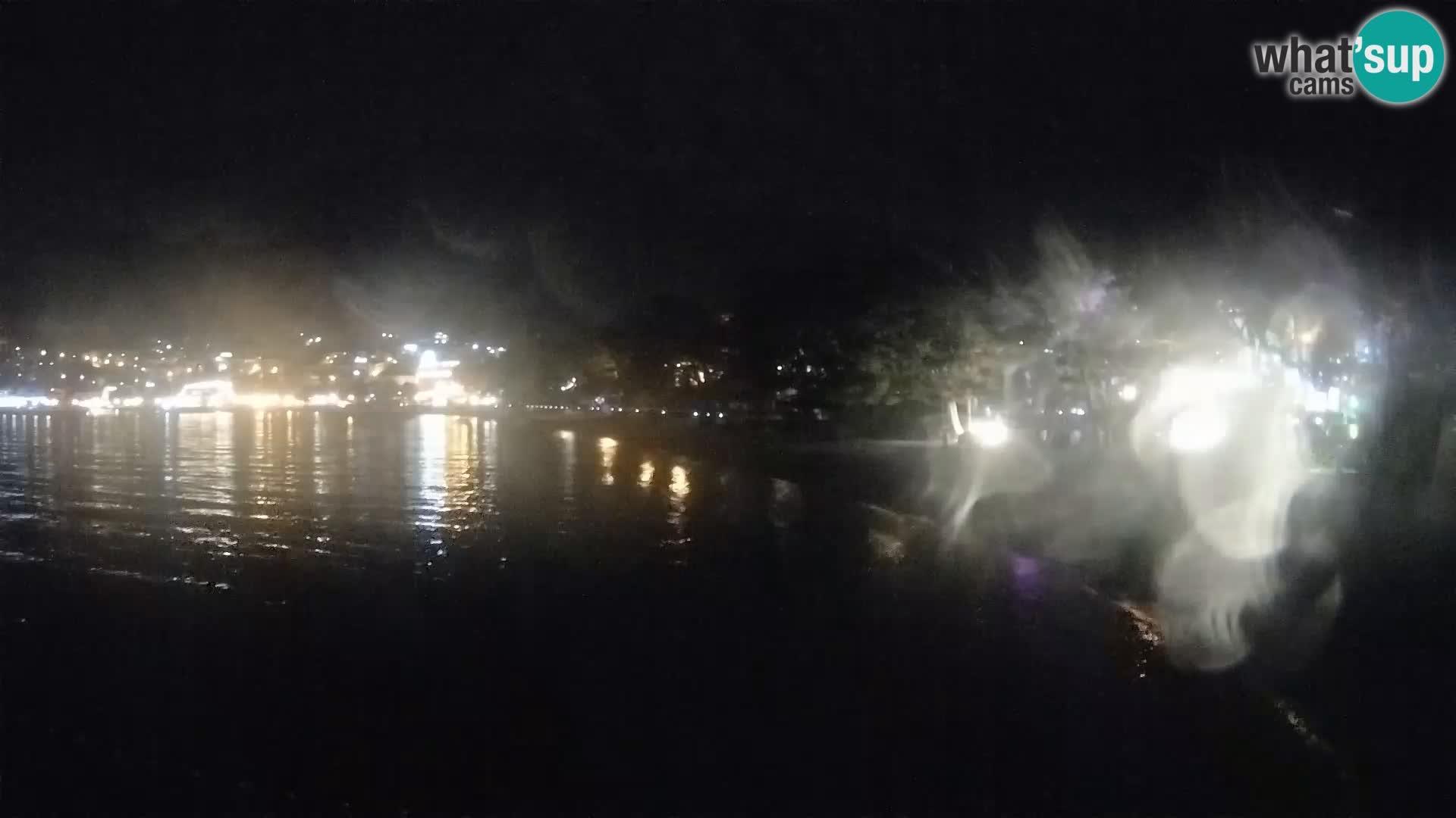 Webcam Basca Voda –  Borik, playa Nikolina