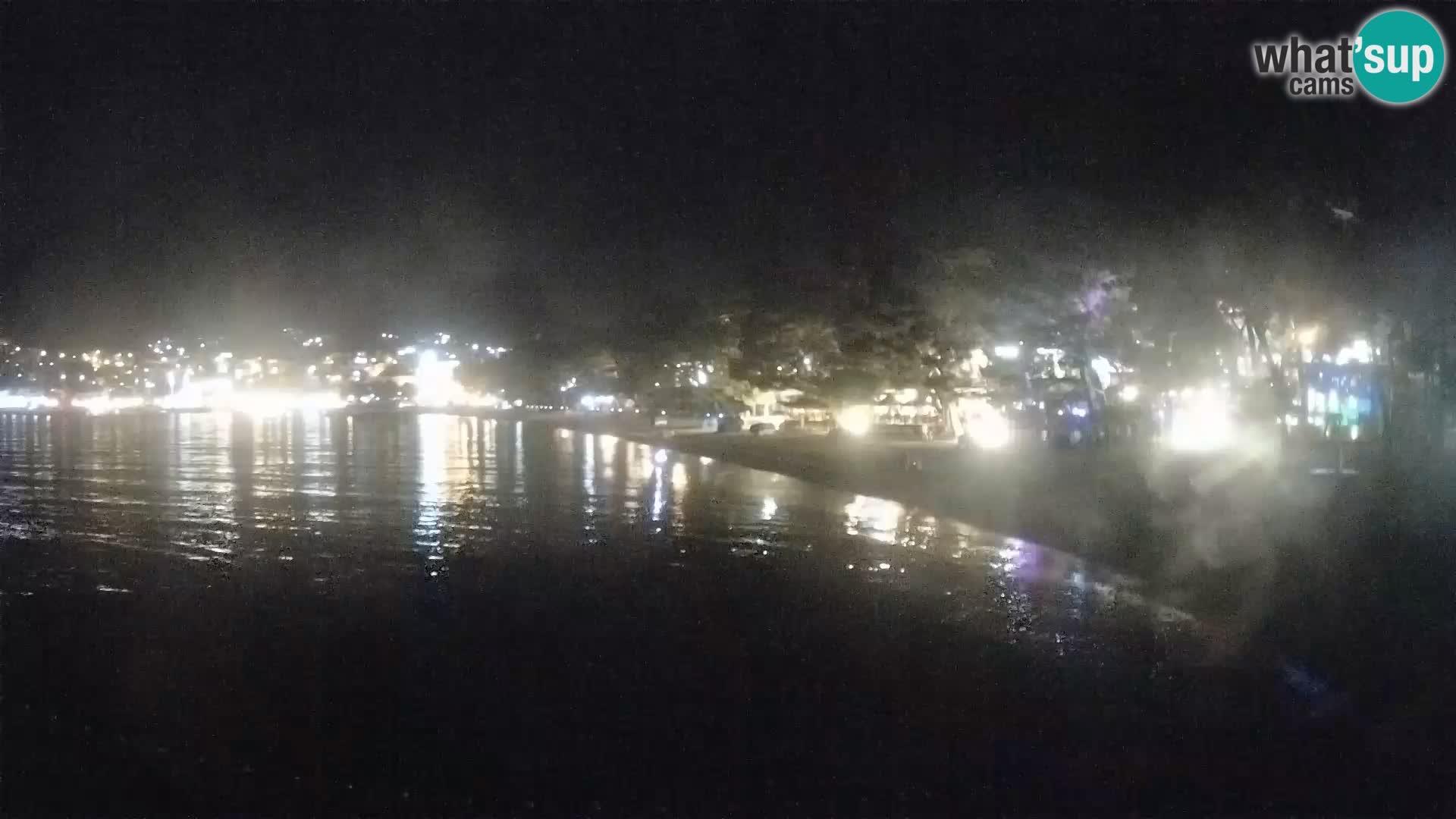 Webcam Baška Voda – Borik, plage Nikolina