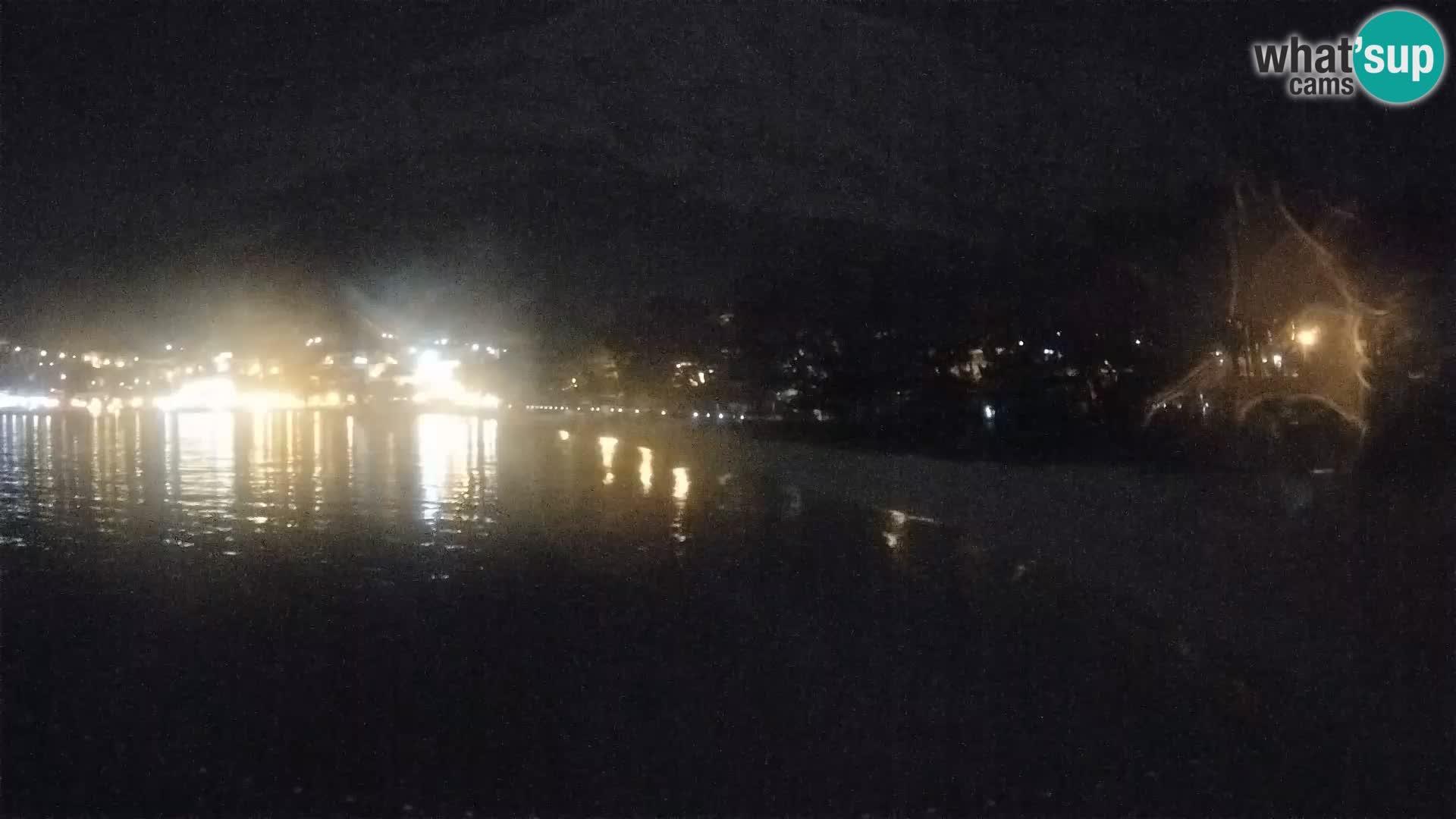 Webcam Live – Baška Voda – Borik, spiaggia Nikolina