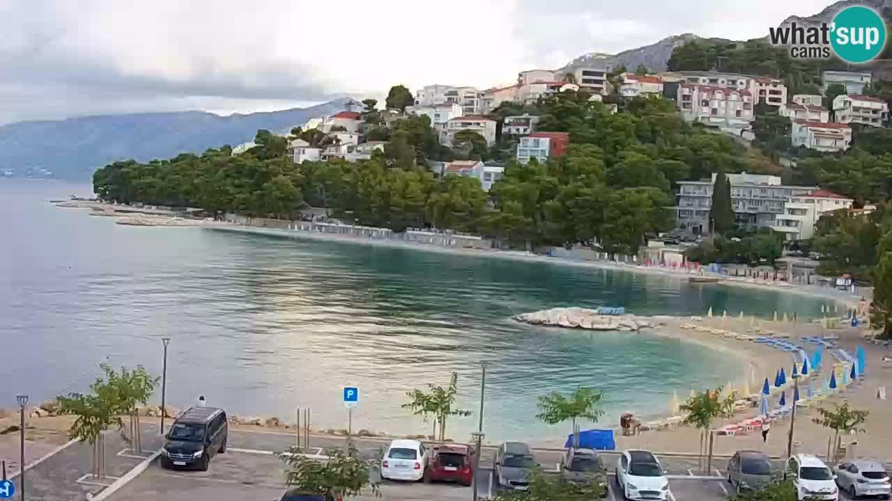 Baška Voda u živo – plaža Podluka