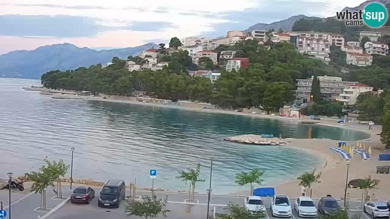Baška Voda webcam – Podluka beach