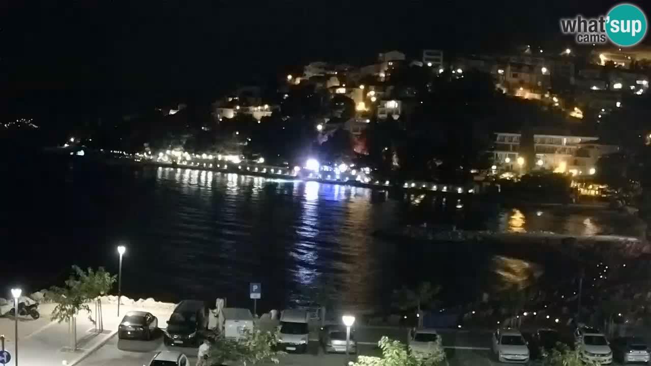 Baška Voda webcam – Podluka strand