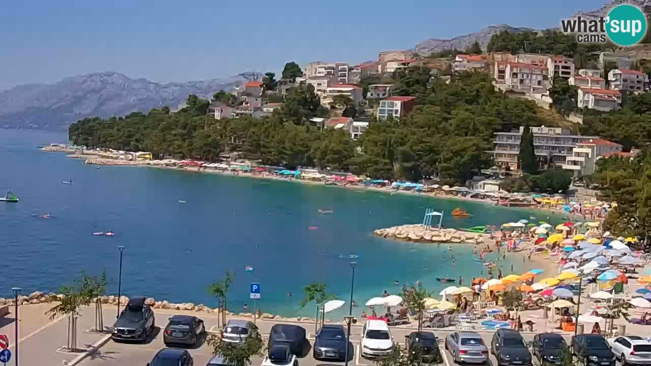 Baška Voda en vivo – Playa Podluka