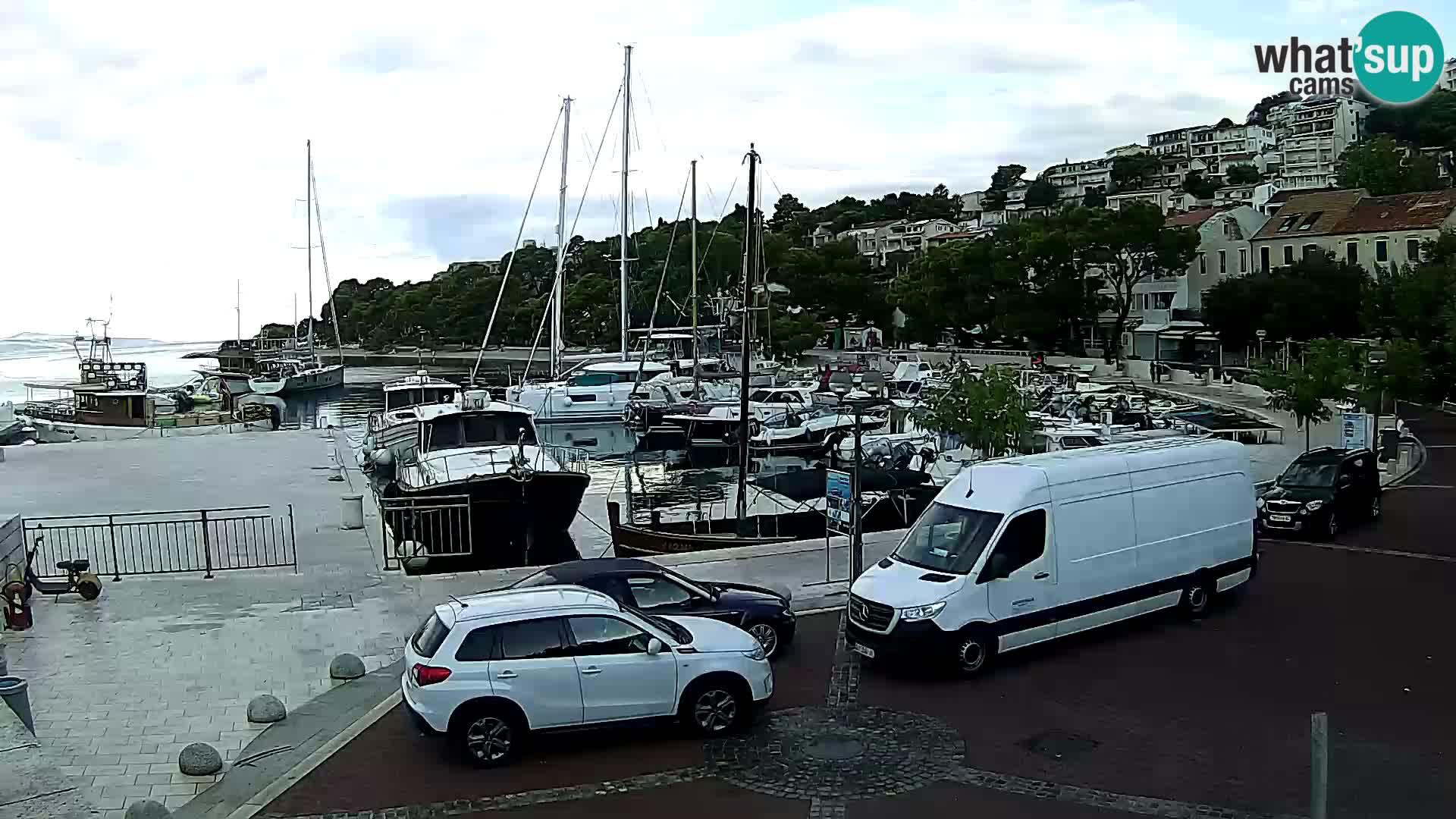 Brela - marina, riva
