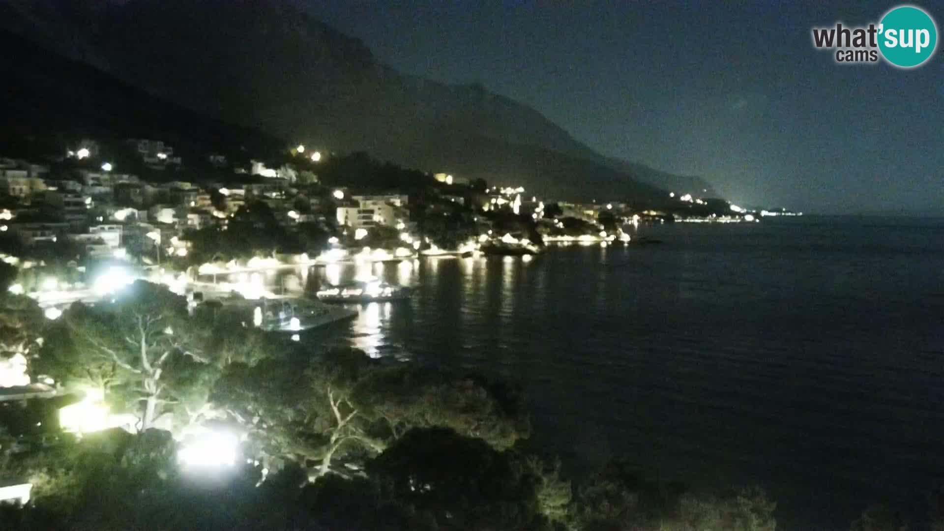 Kamera v živo Brela – Panorama