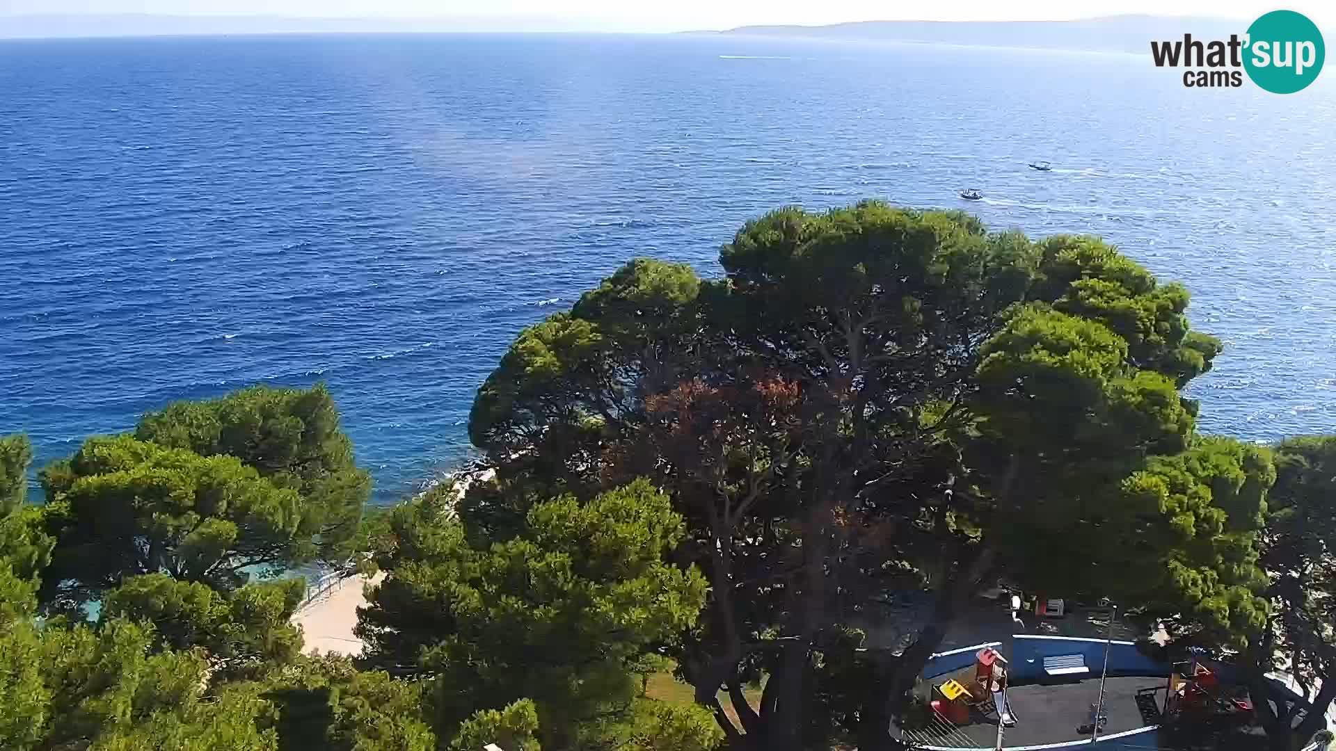 Okretna web kamera Brela – Panorama