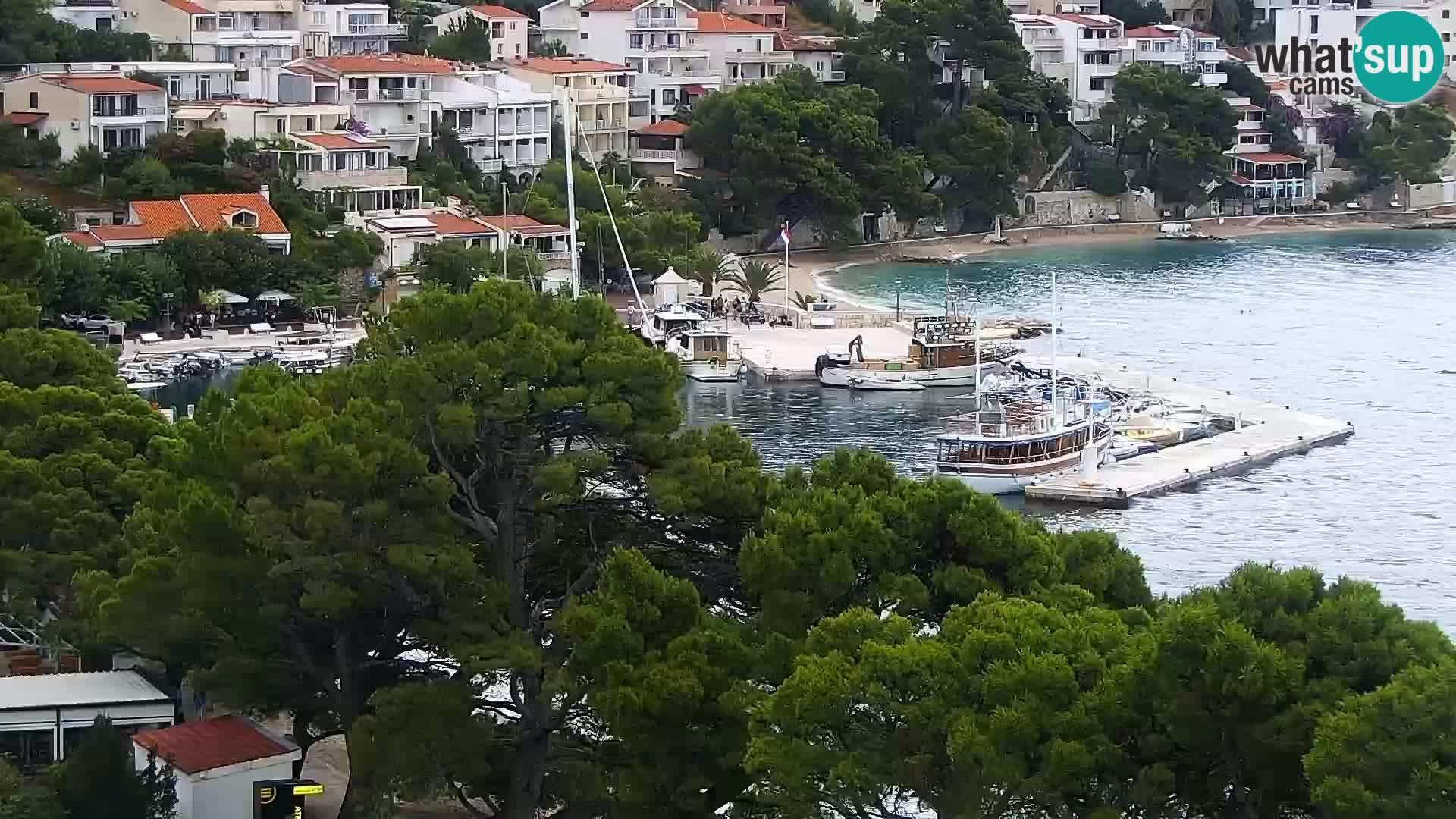 Livecam Brela – Panorama