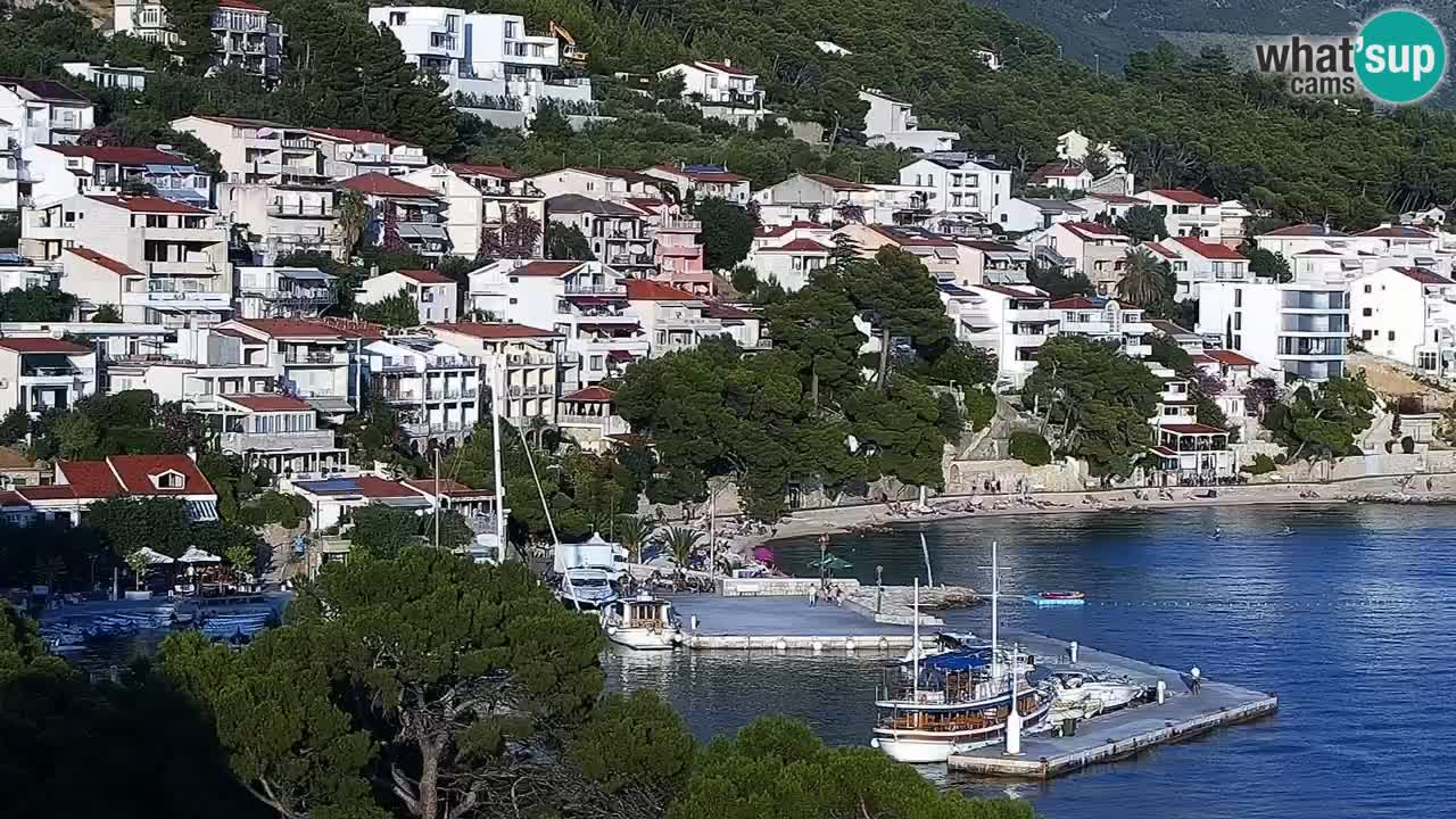 Live Webcam Brela – Panorama