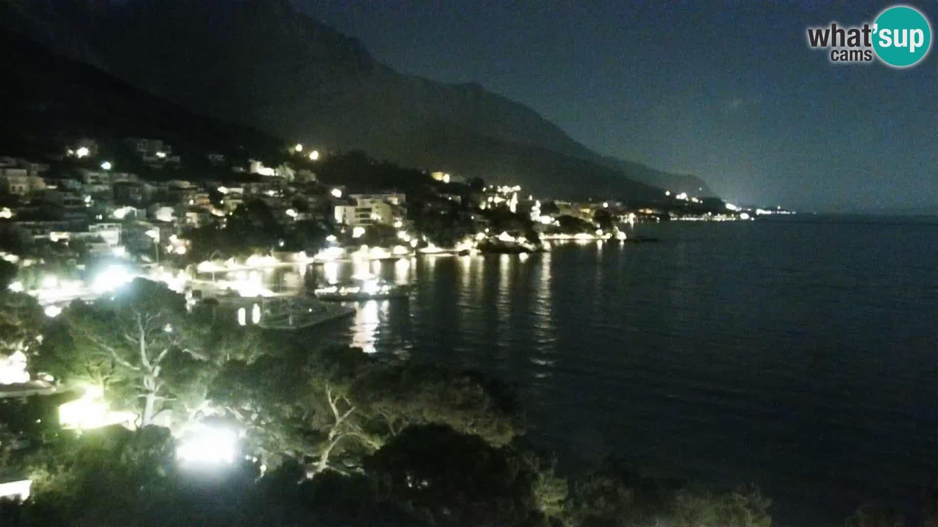 PTZ Webcam Brela – Panorama