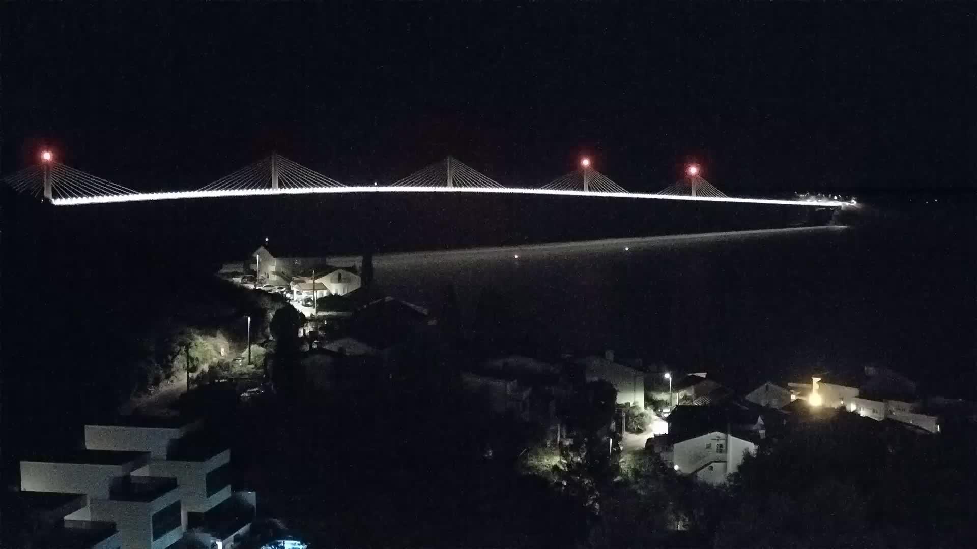 Spletna kamera gradnja mosta na Pelješac
