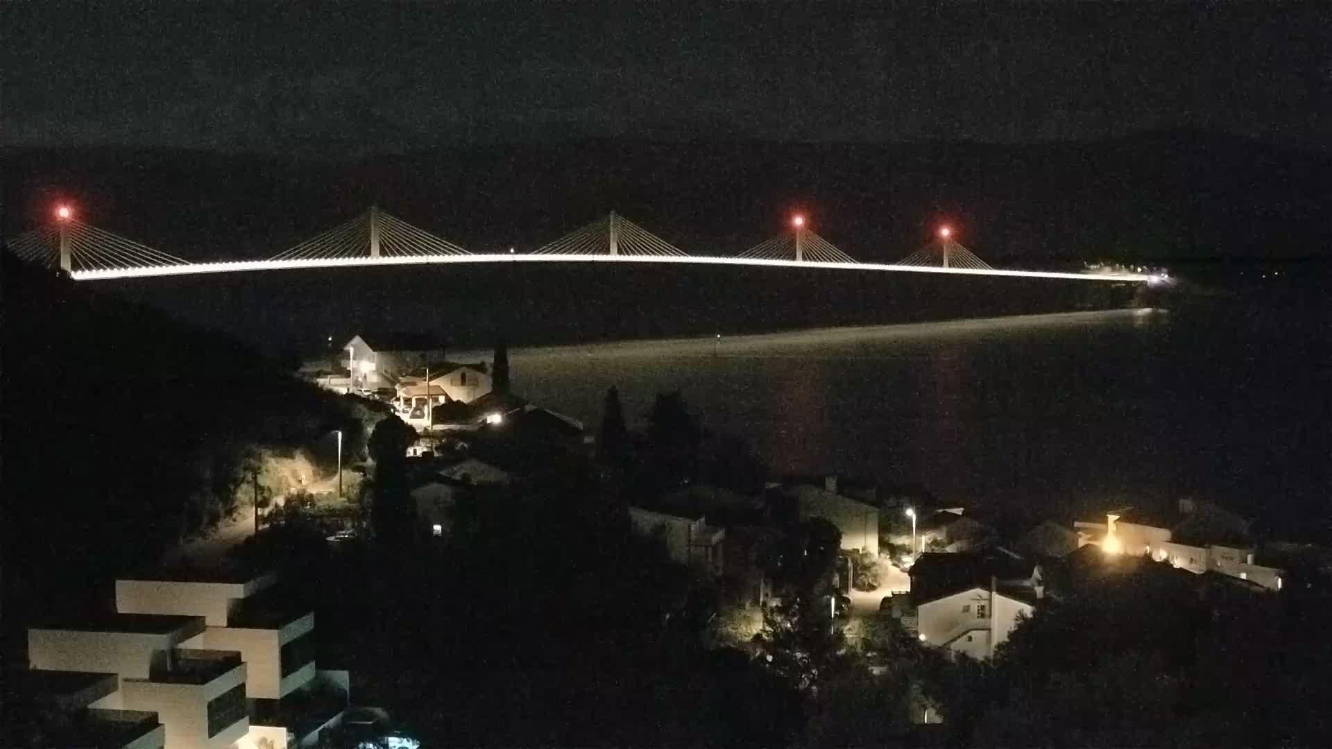 Camera en vivo Ponte de Pelješac
