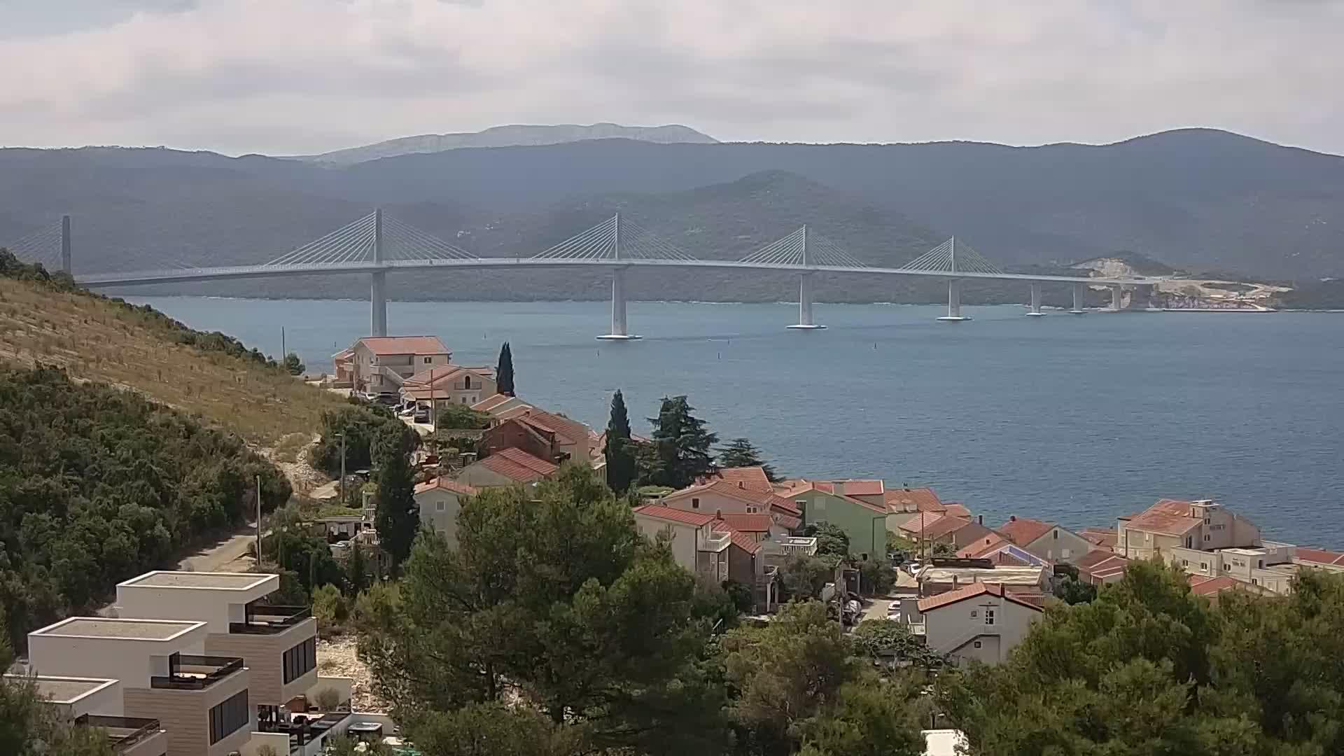 Webcam Pelješac Brücke