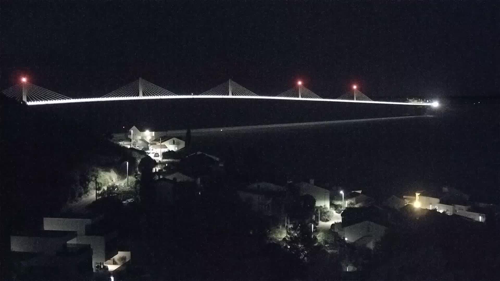 Live webcam Pont de Pelješac