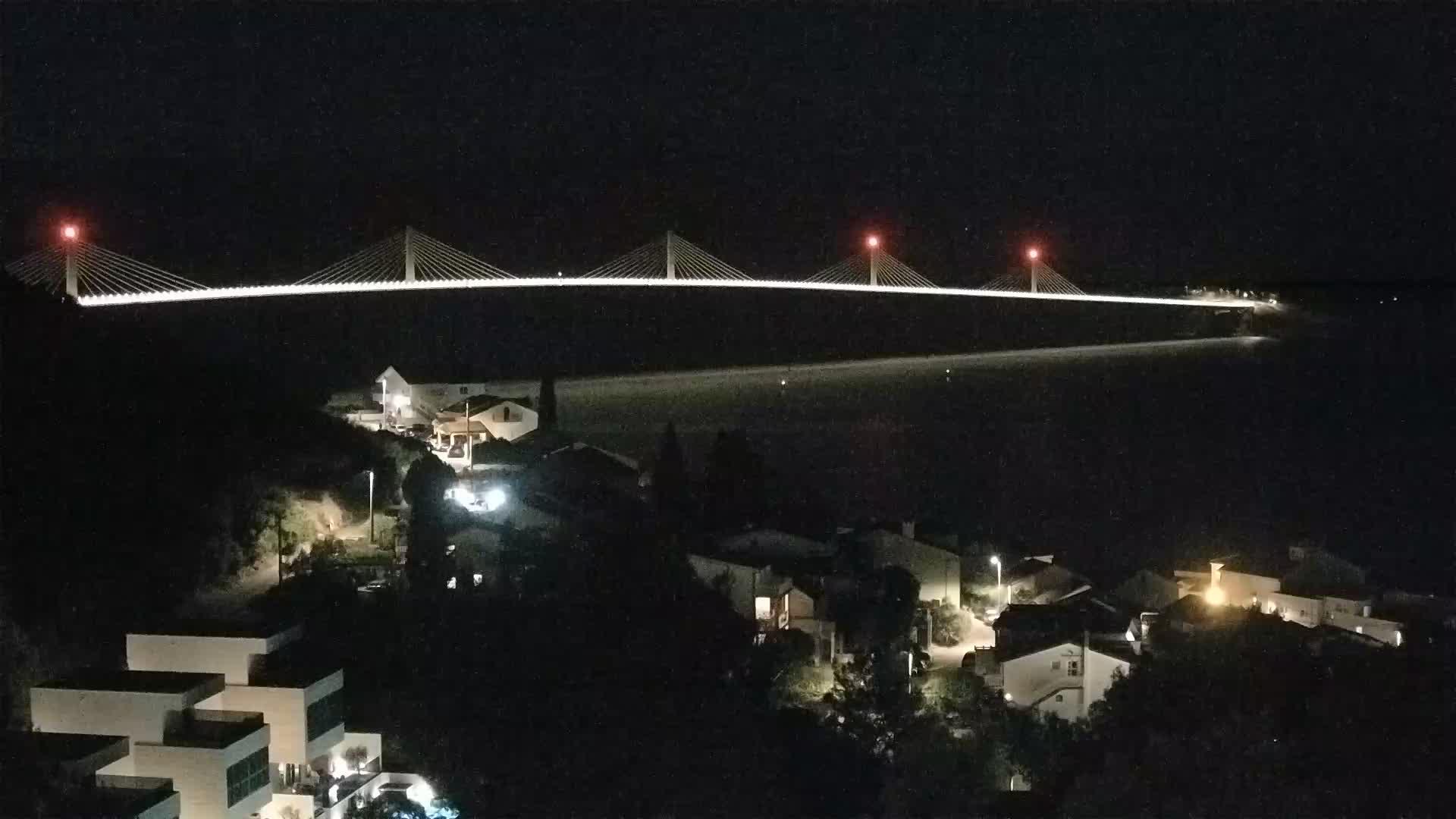 Webcam building Pelješac bridge