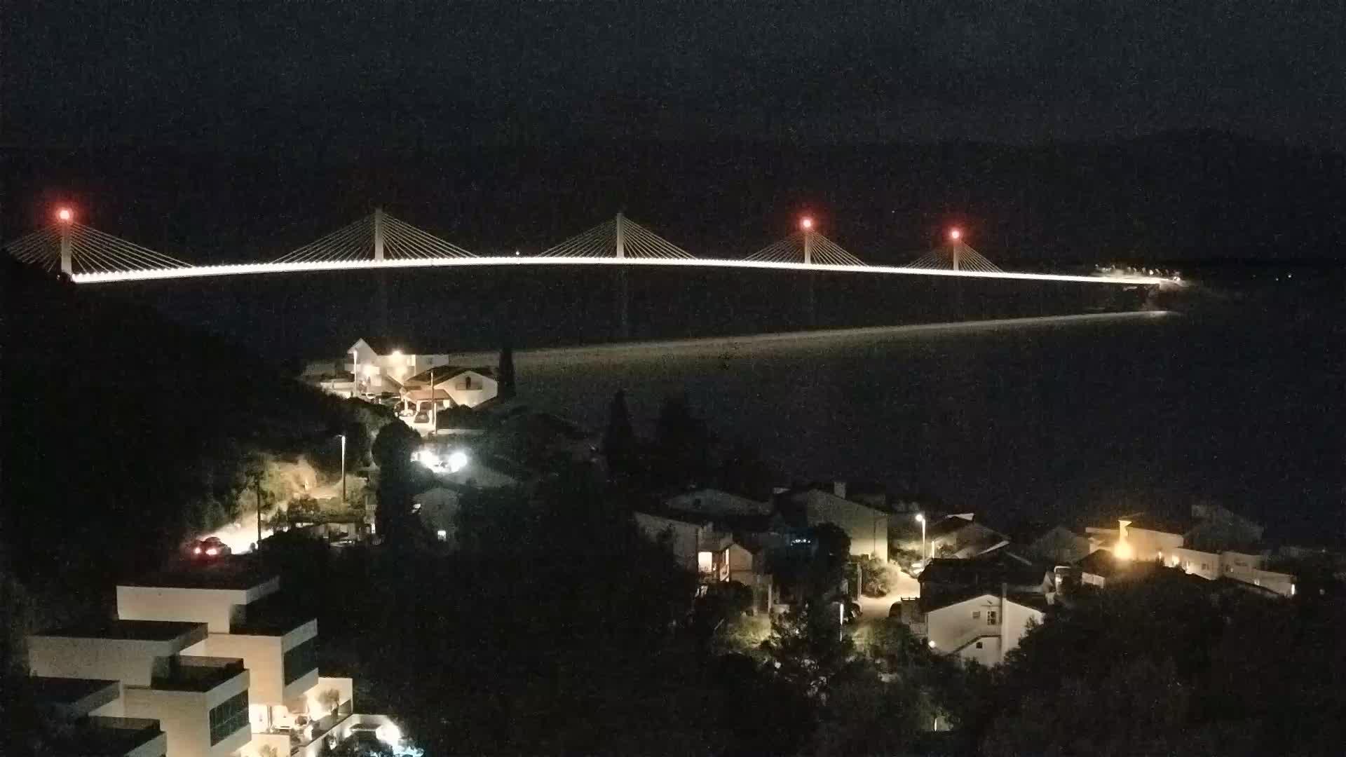 Web kamera gradnja Pelješki most