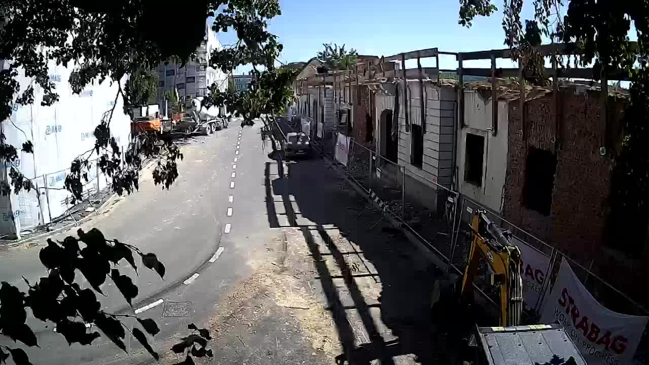 Petrinjska obnova Srednje škole i Gradske uprave nakon potresa – Live cam Hrvatska